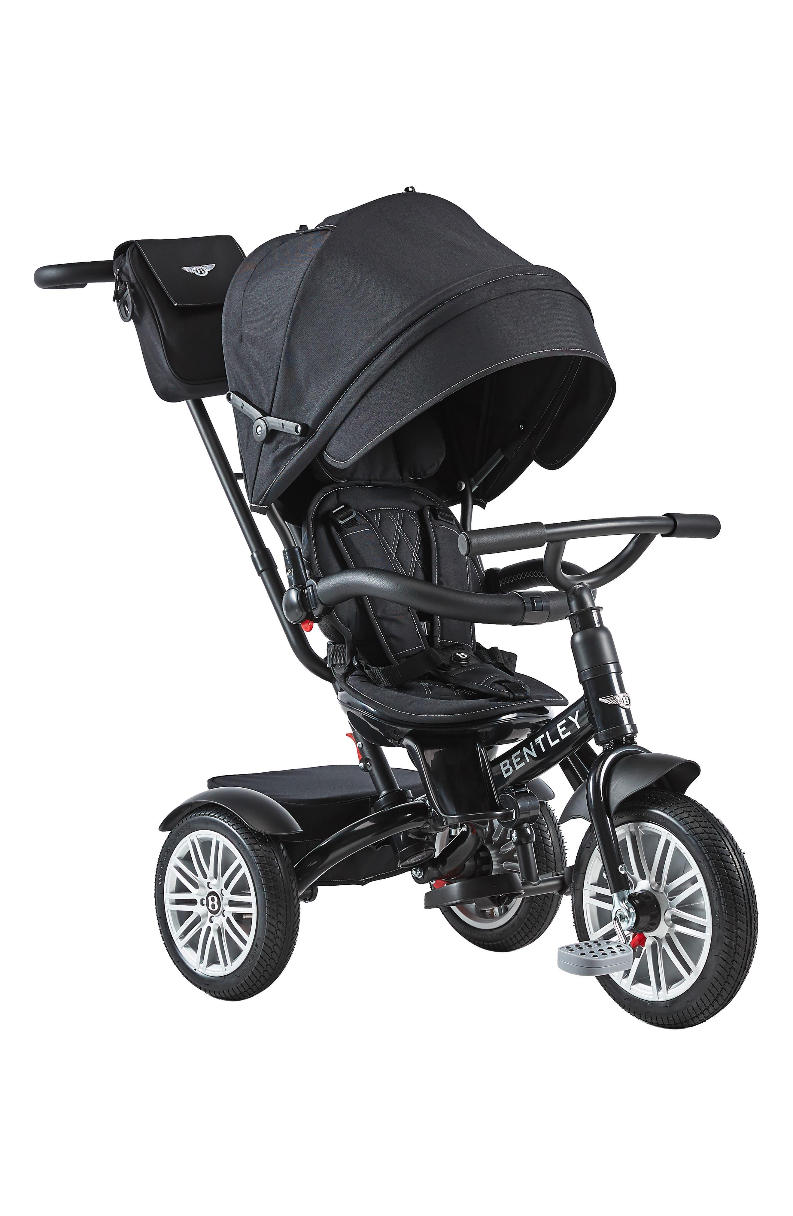 Bentley 6-in-1 Stroller/Trike, Main, color, ONYX BLACK