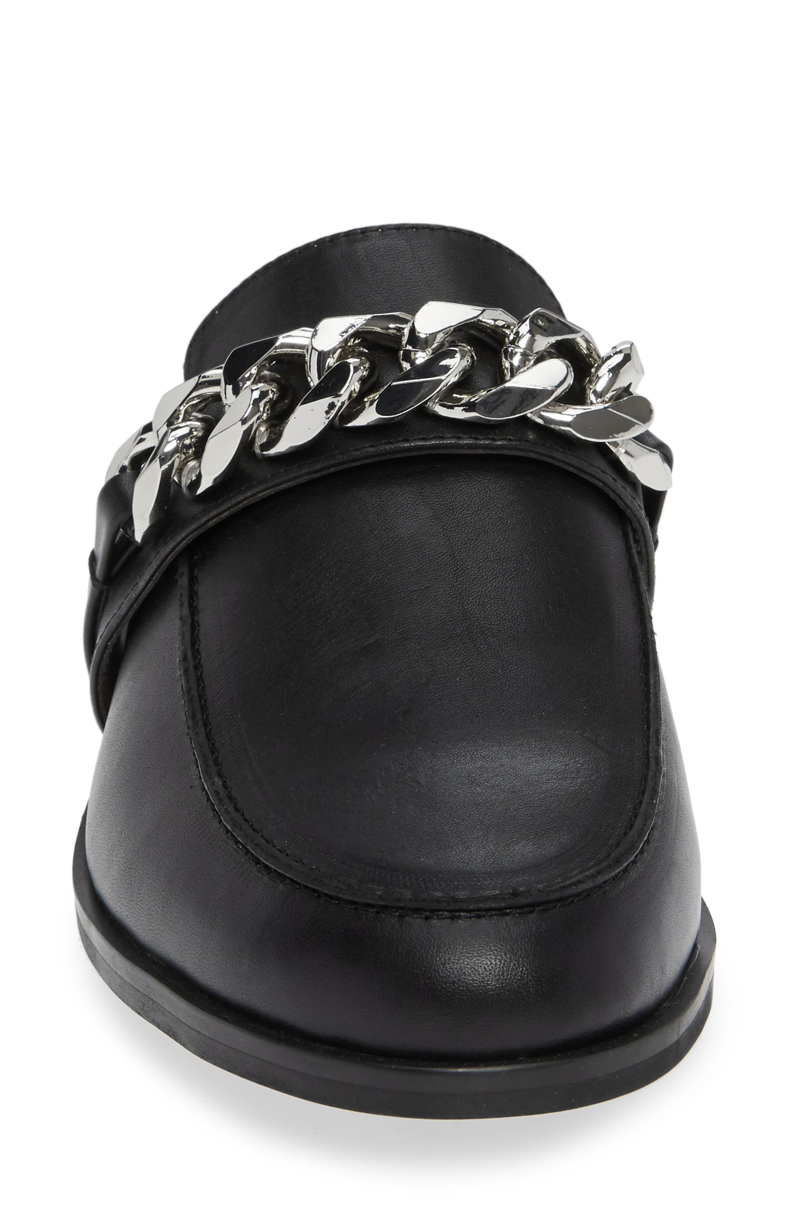 TONY BIANCO,                             Dion Mule,                             Alternate thumbnail 4, color,                             BLACK SMOOTH LEATHER