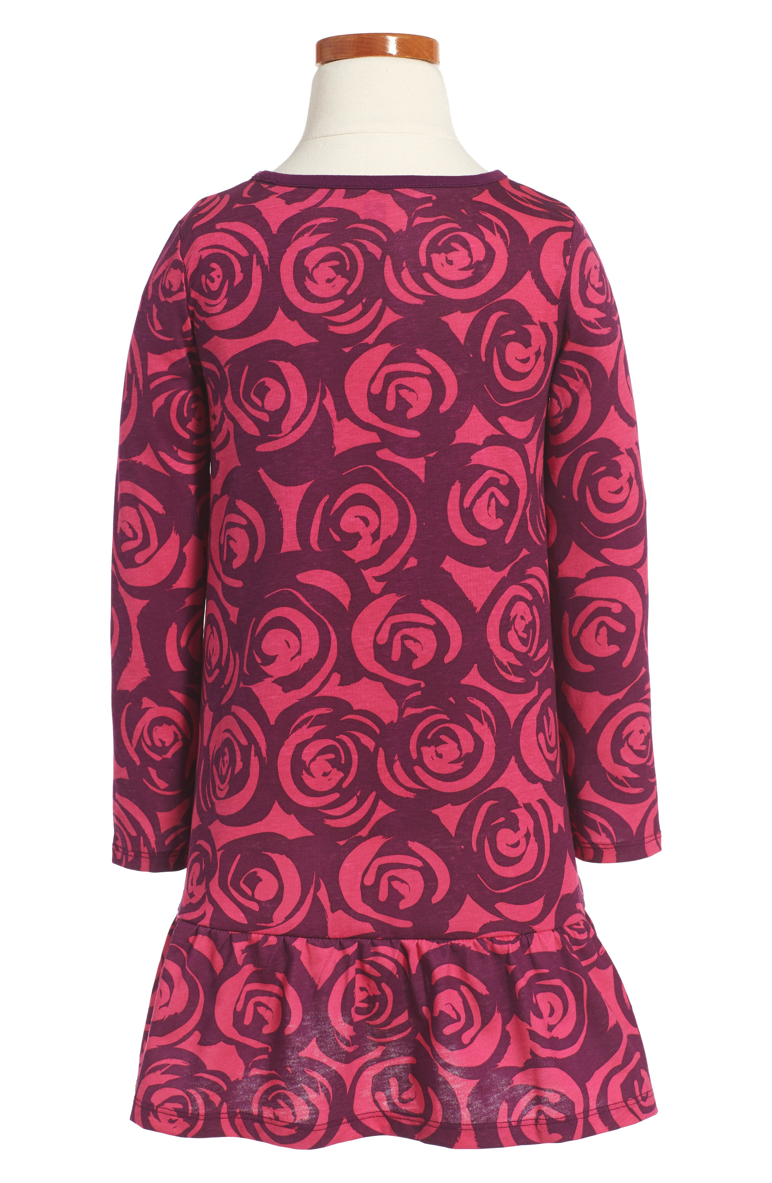 Rennie Rose Ruffle Dress,                             Alternate thumbnail 2, color,                             651