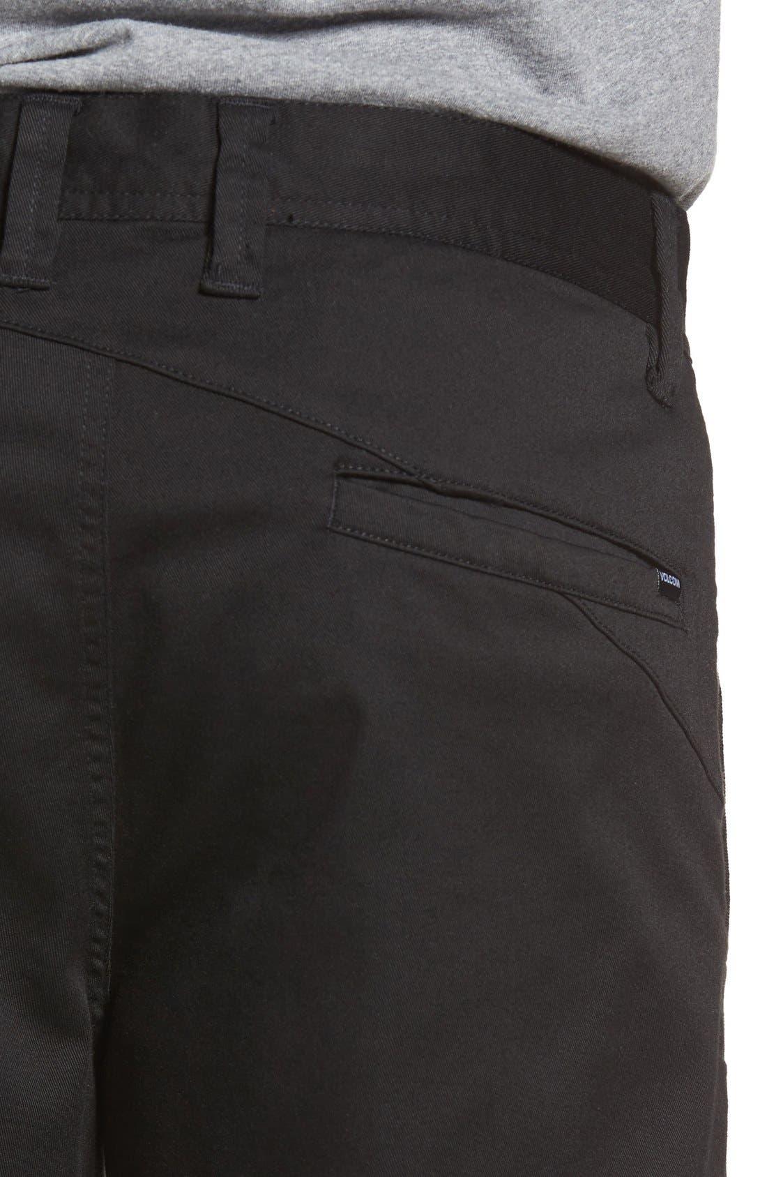 'Modern' Stretch Chino Shorts,                             Alternate thumbnail 15, color,
