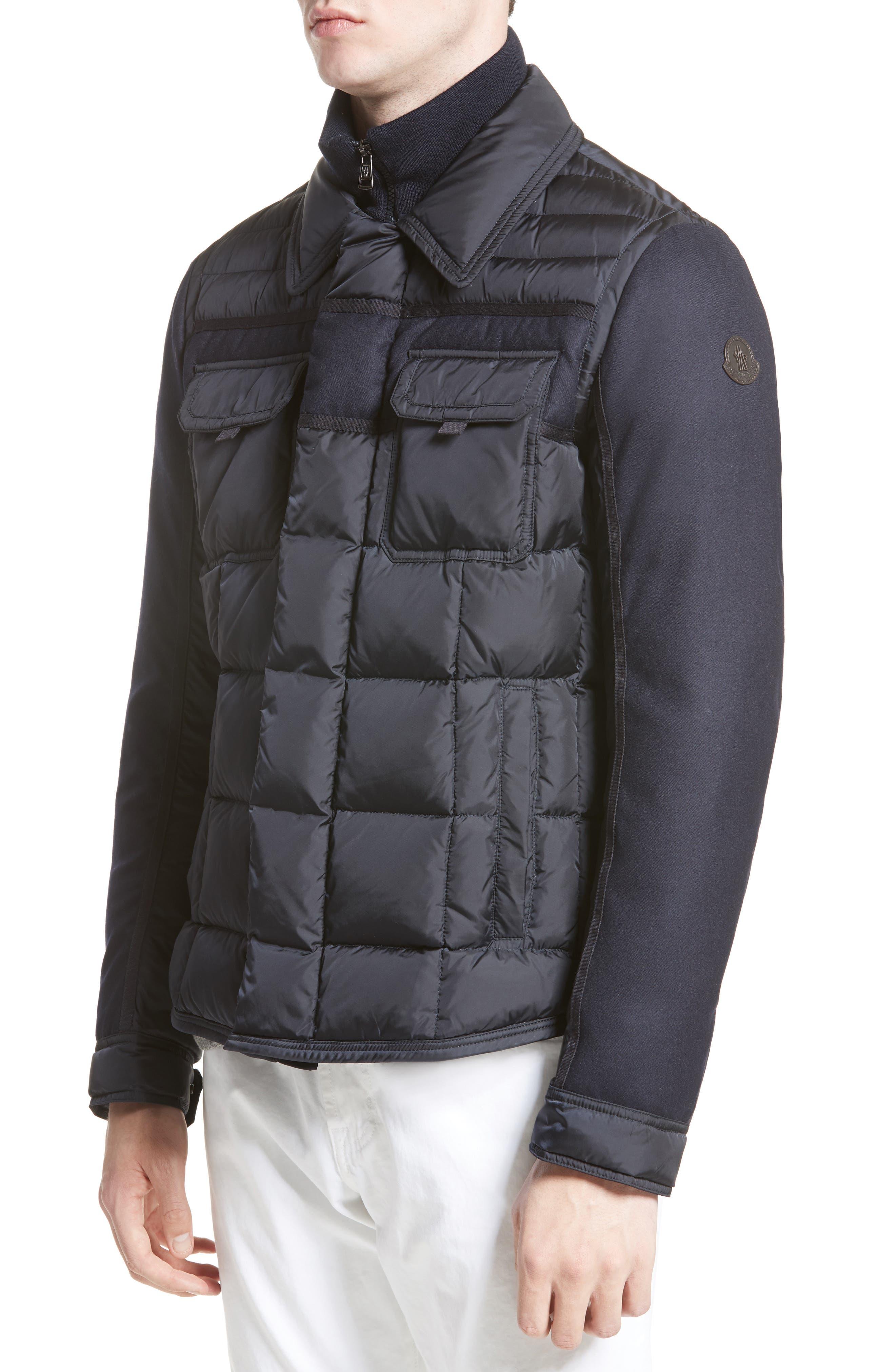 Moncler Blais Down Jacket, Blue