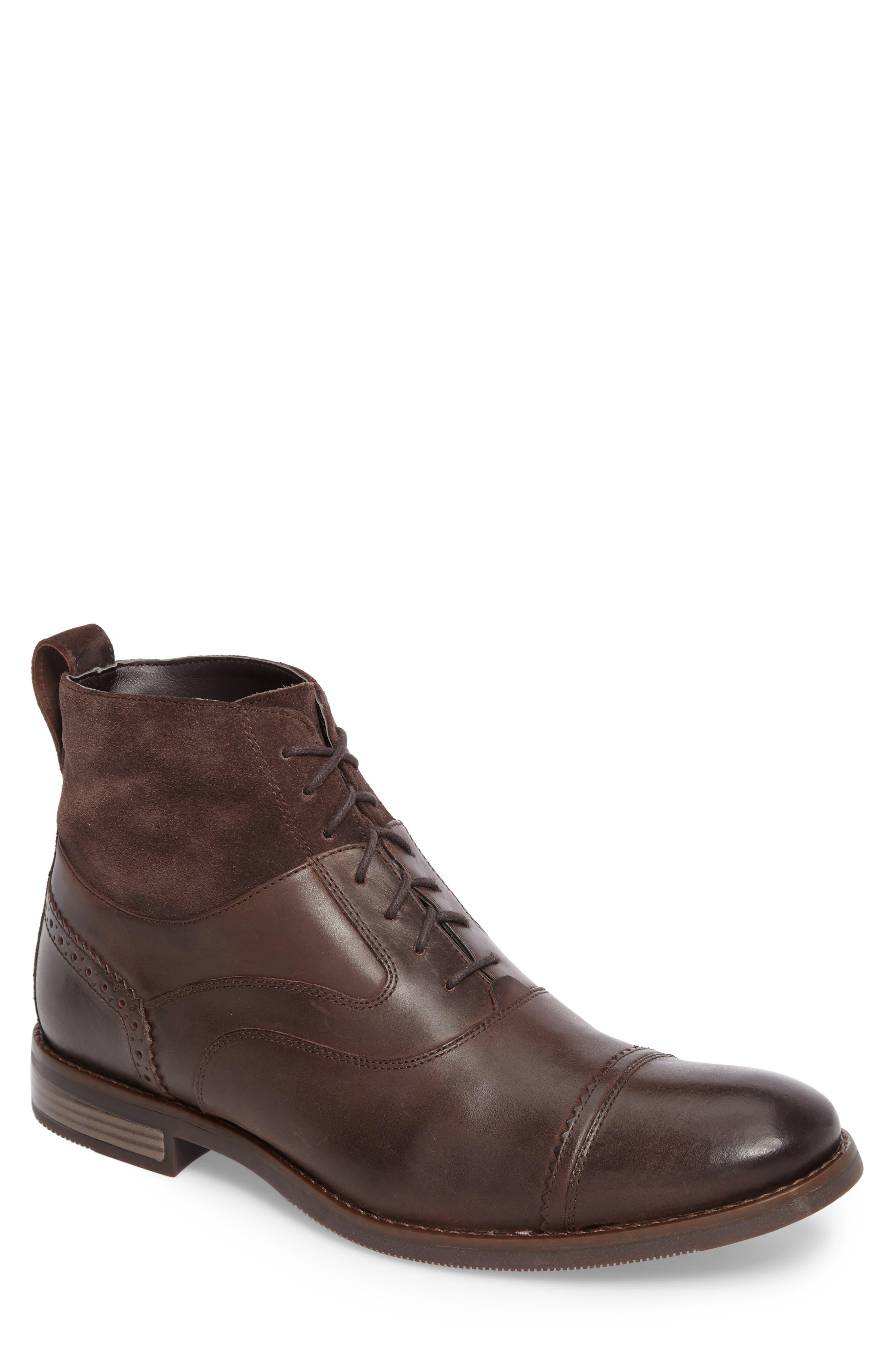 Wynstin Cap Toe Boot,                         Main,                         color, 201