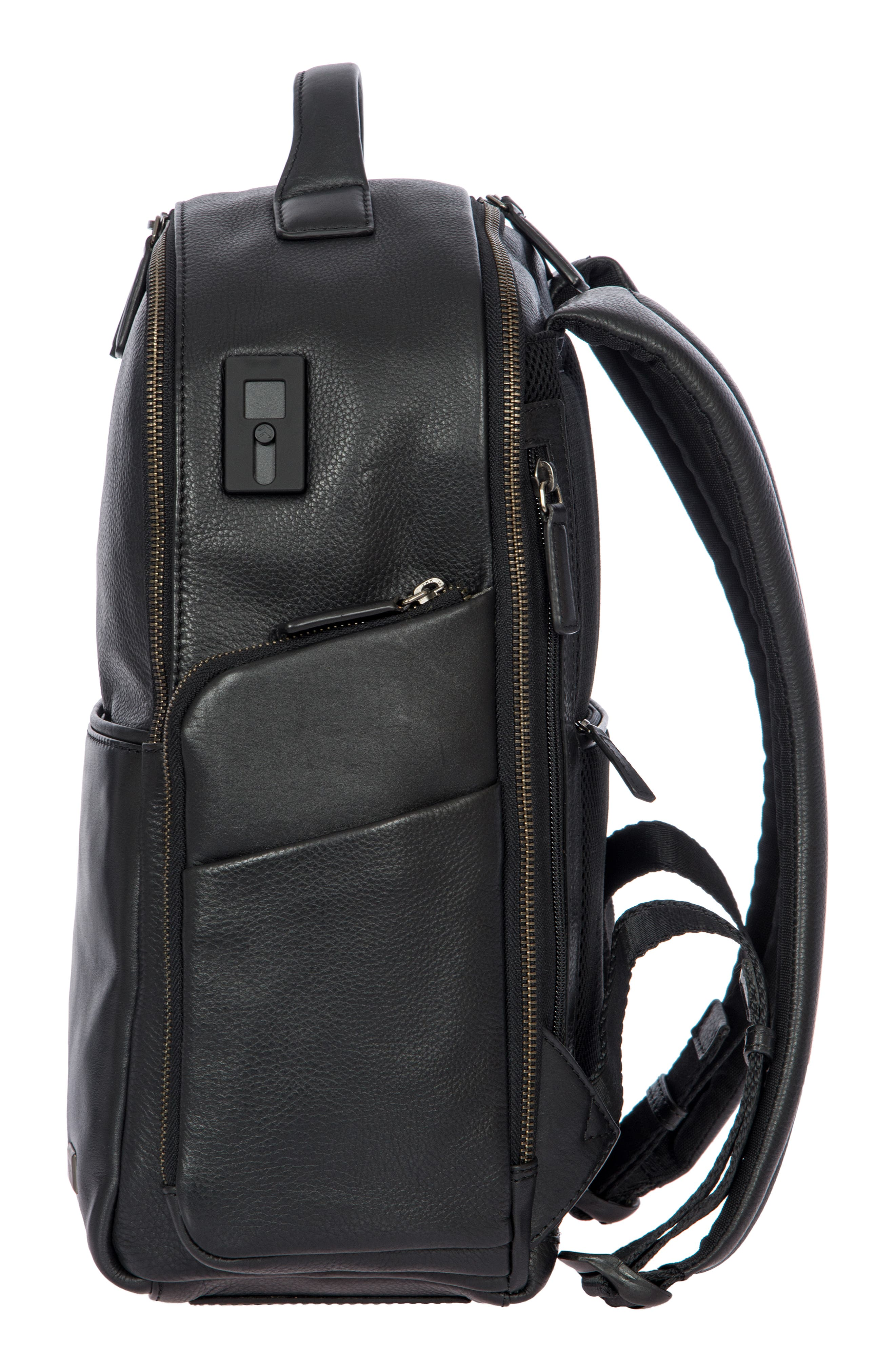 Torino Medium Business Backpack,                             Alternate thumbnail 4, color,                             BLACK