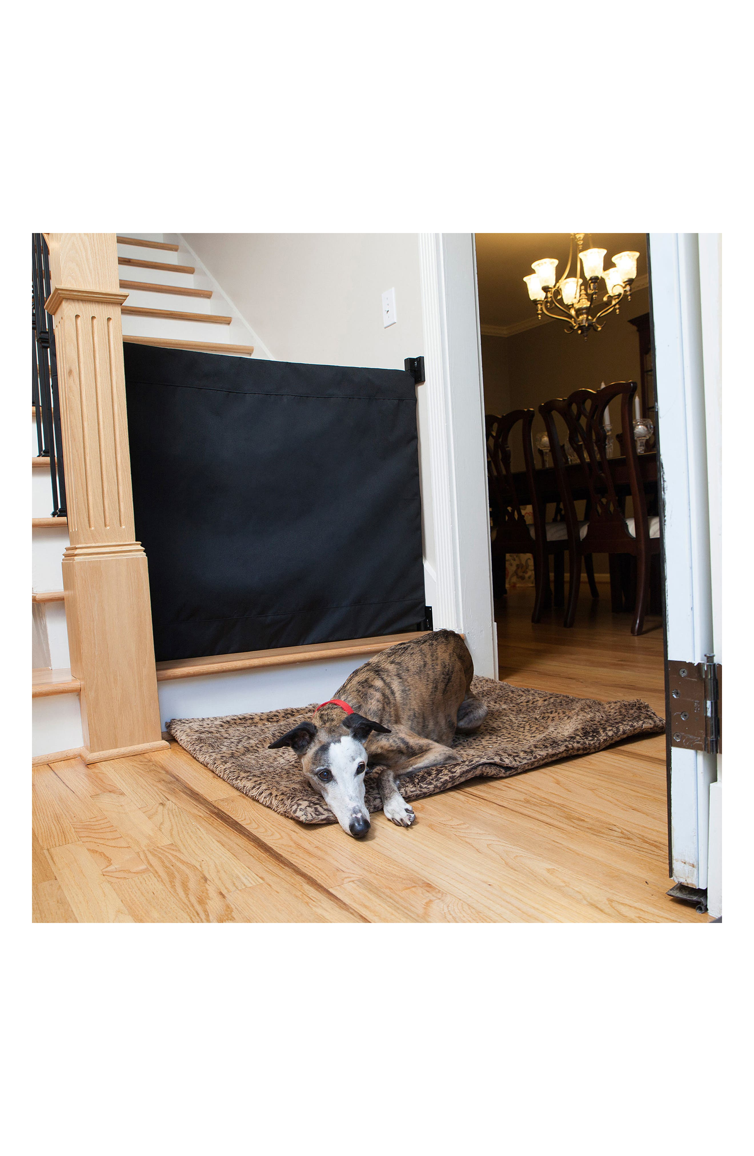 Wall to Banister Indoor Outdoor Safety Gate,                             Alternate thumbnail 12, color,                             002