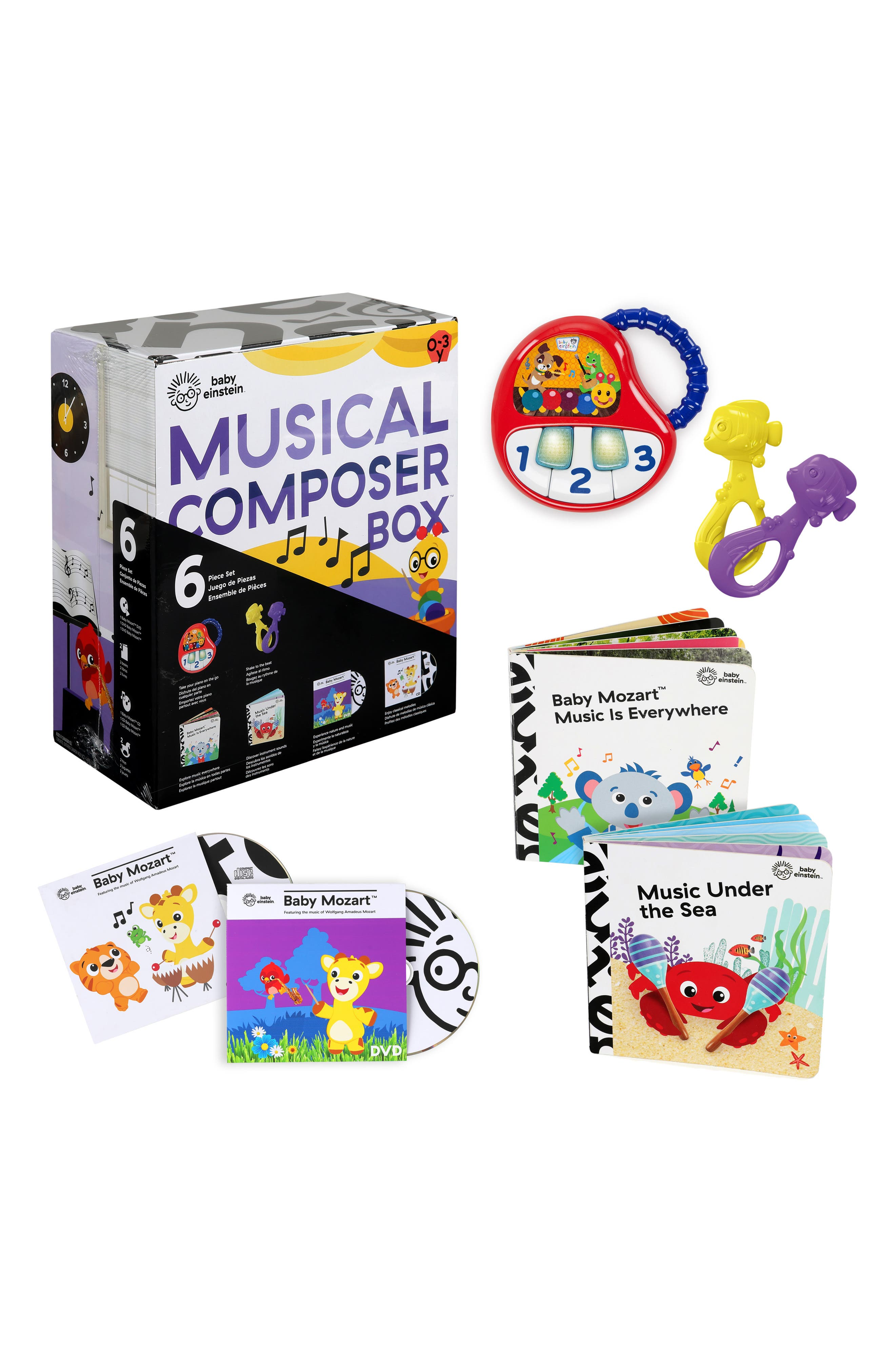 Infant Baby Einstein Musical Discovery Experience Set