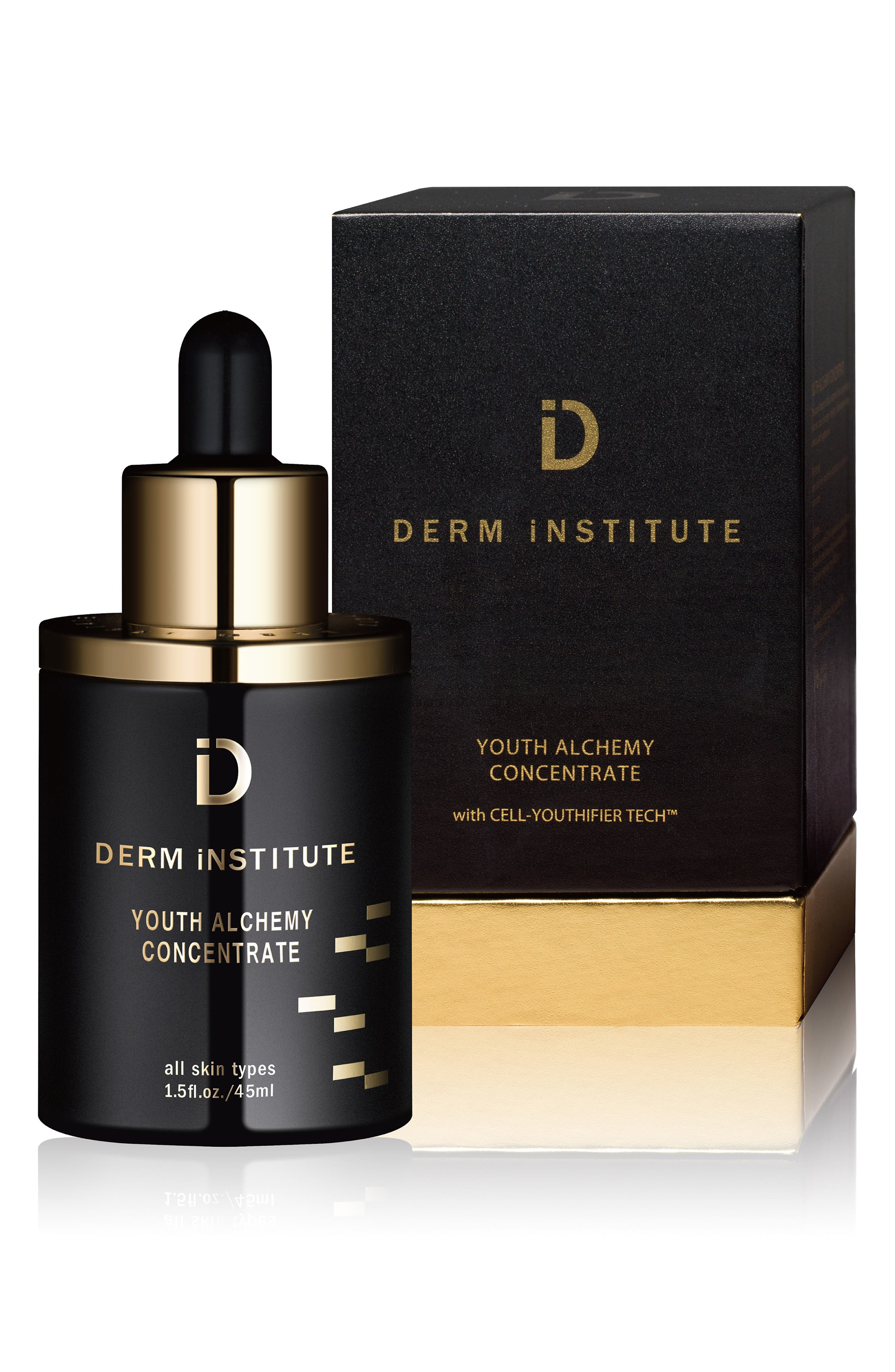 SPACE.NK.apothecary Derm Institute Youth Alchemy Concentrate,                             Alternate thumbnail 3, color,                             NO COLOR