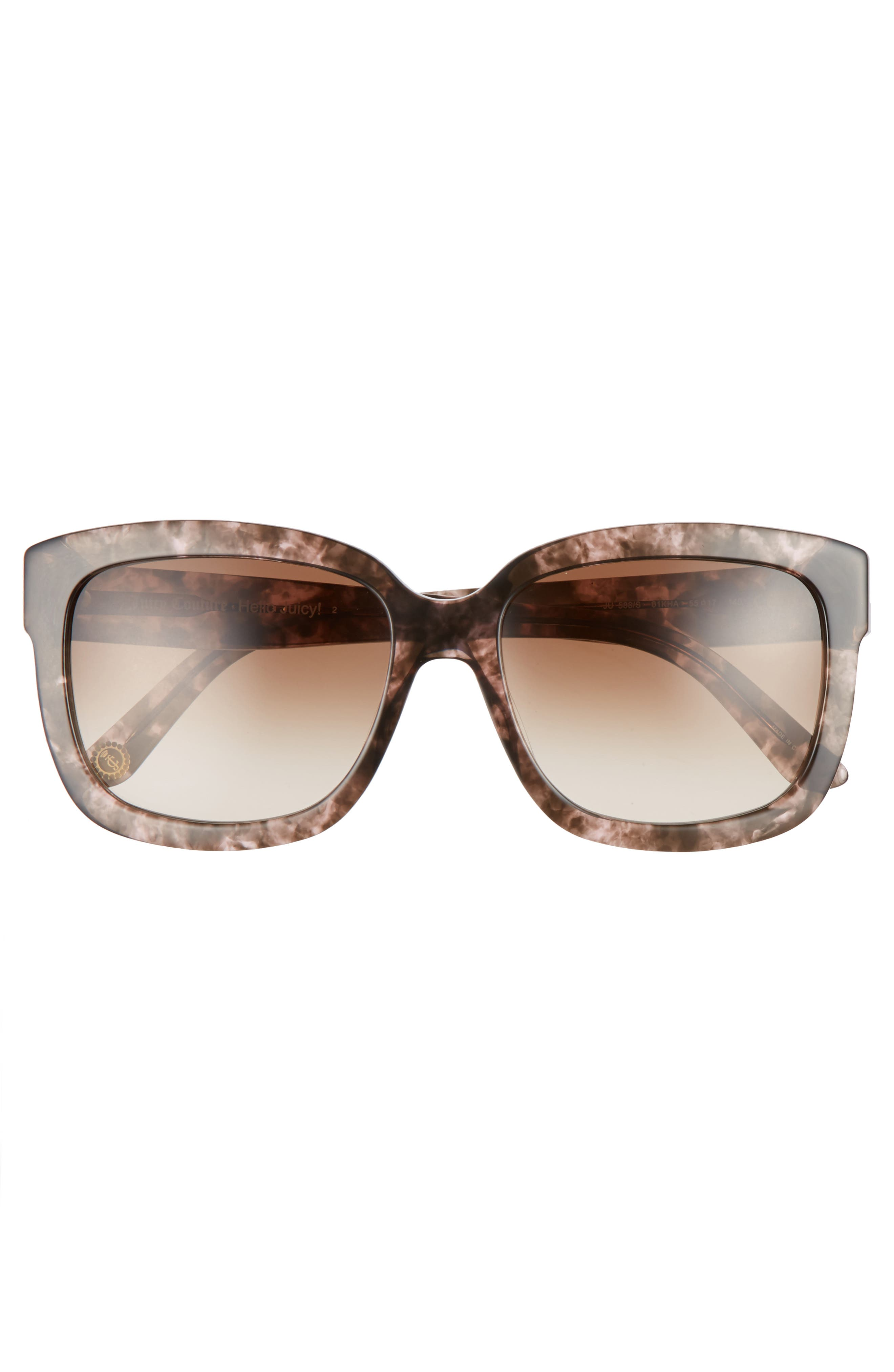 Black Label 55mm Square Sunglasses,                             Alternate thumbnail 3, color,                             210