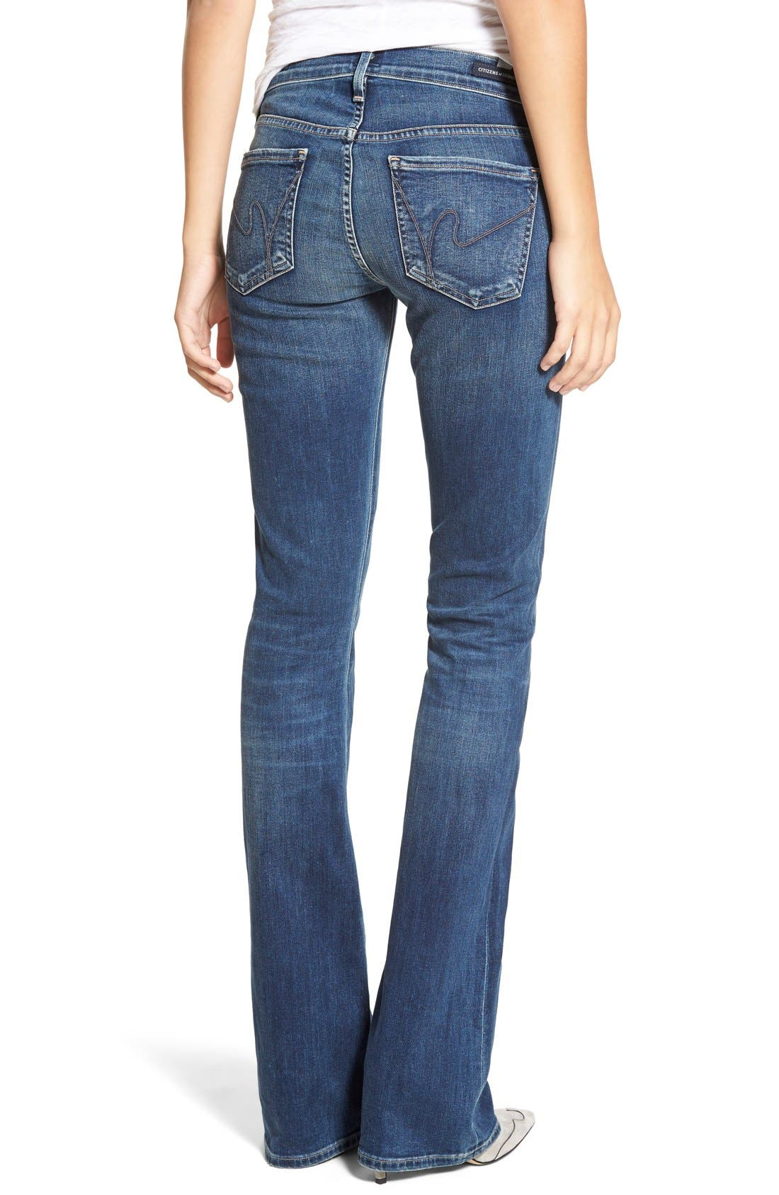 CITIZENS OF HUMANITY,                             'Emannuelle' Slim Bootcut Jeans,                             Alternate thumbnail 6, color,                             MODERN LOVE
