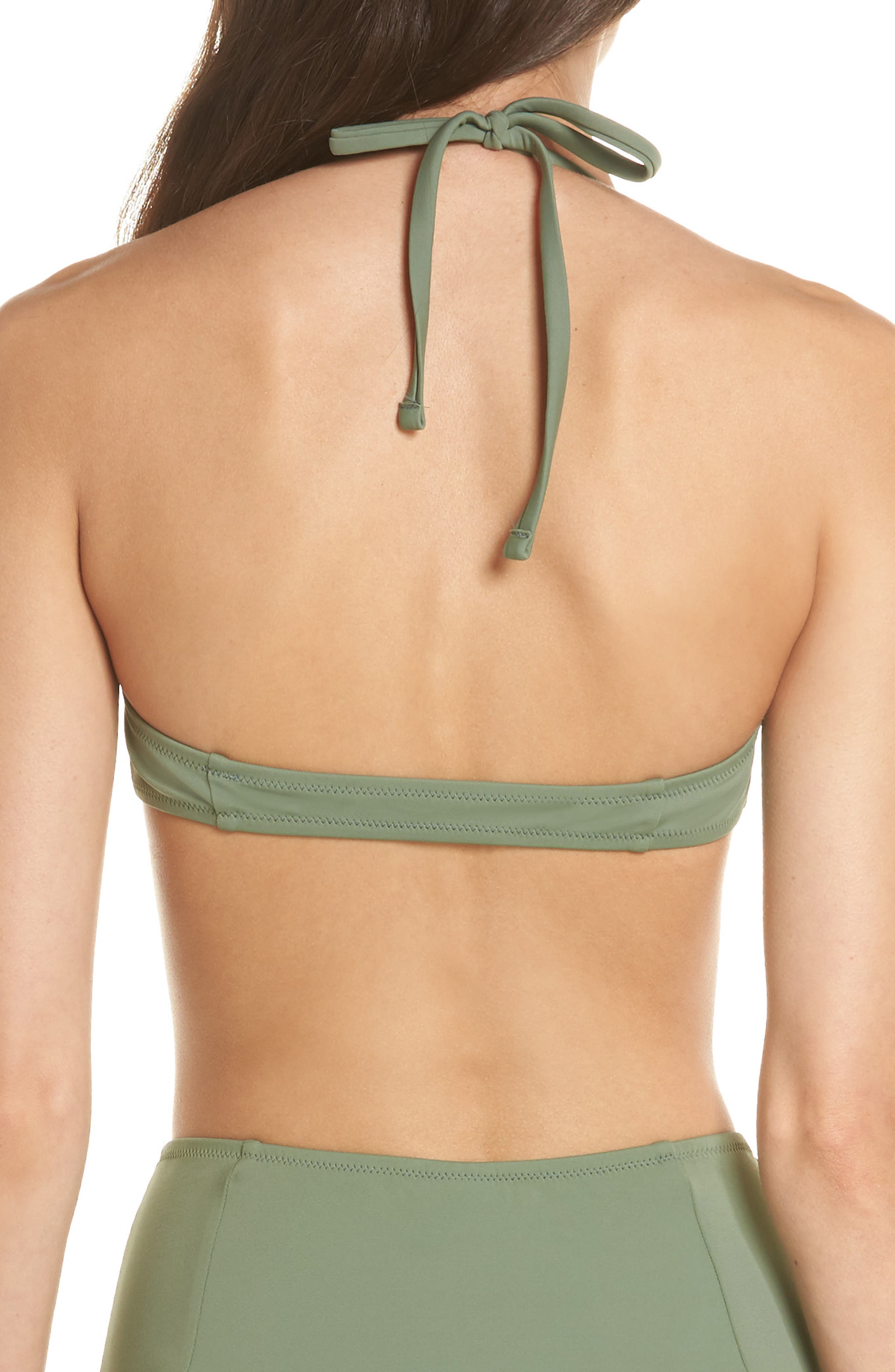 The Jessica Halter Bikini Top,                             Alternate thumbnail 2, color,