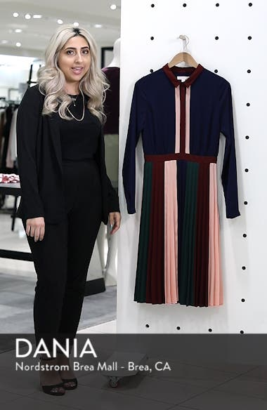 Colorblock Midi Dress, sales video thumbnail