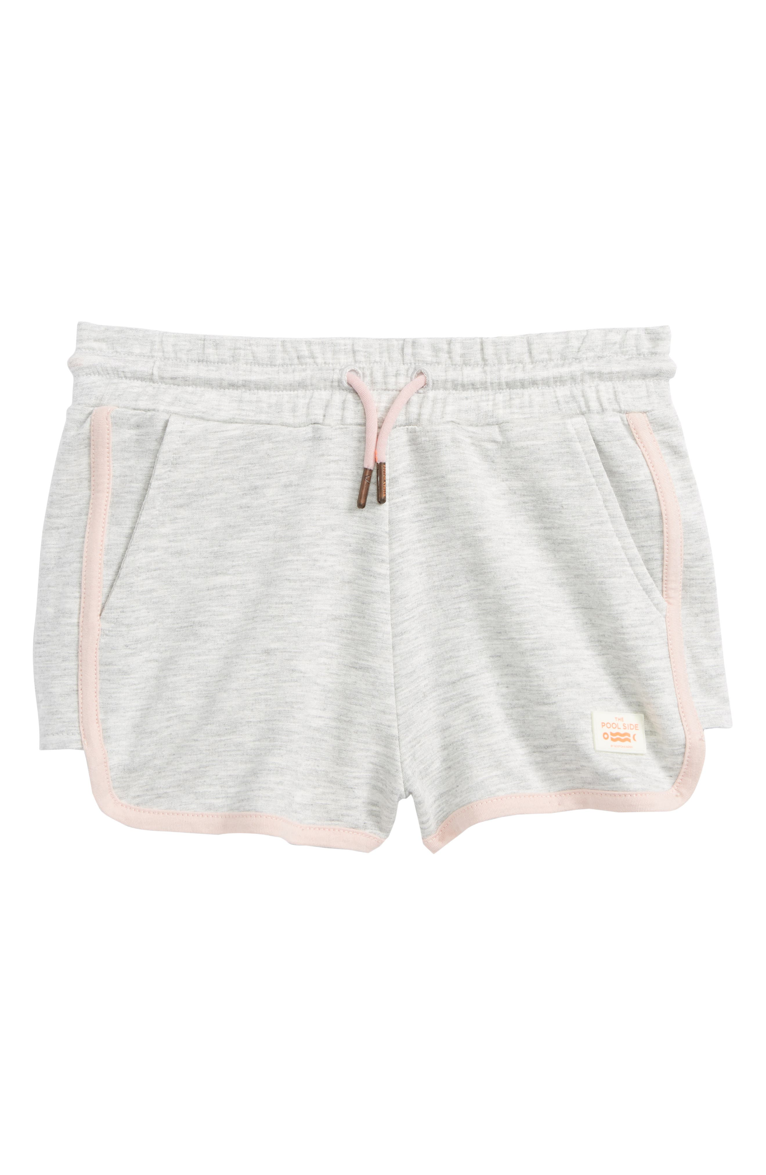 Scotch R'Belle The Pool Side Shorts,                         Main,                         color, 606 GREY MEL