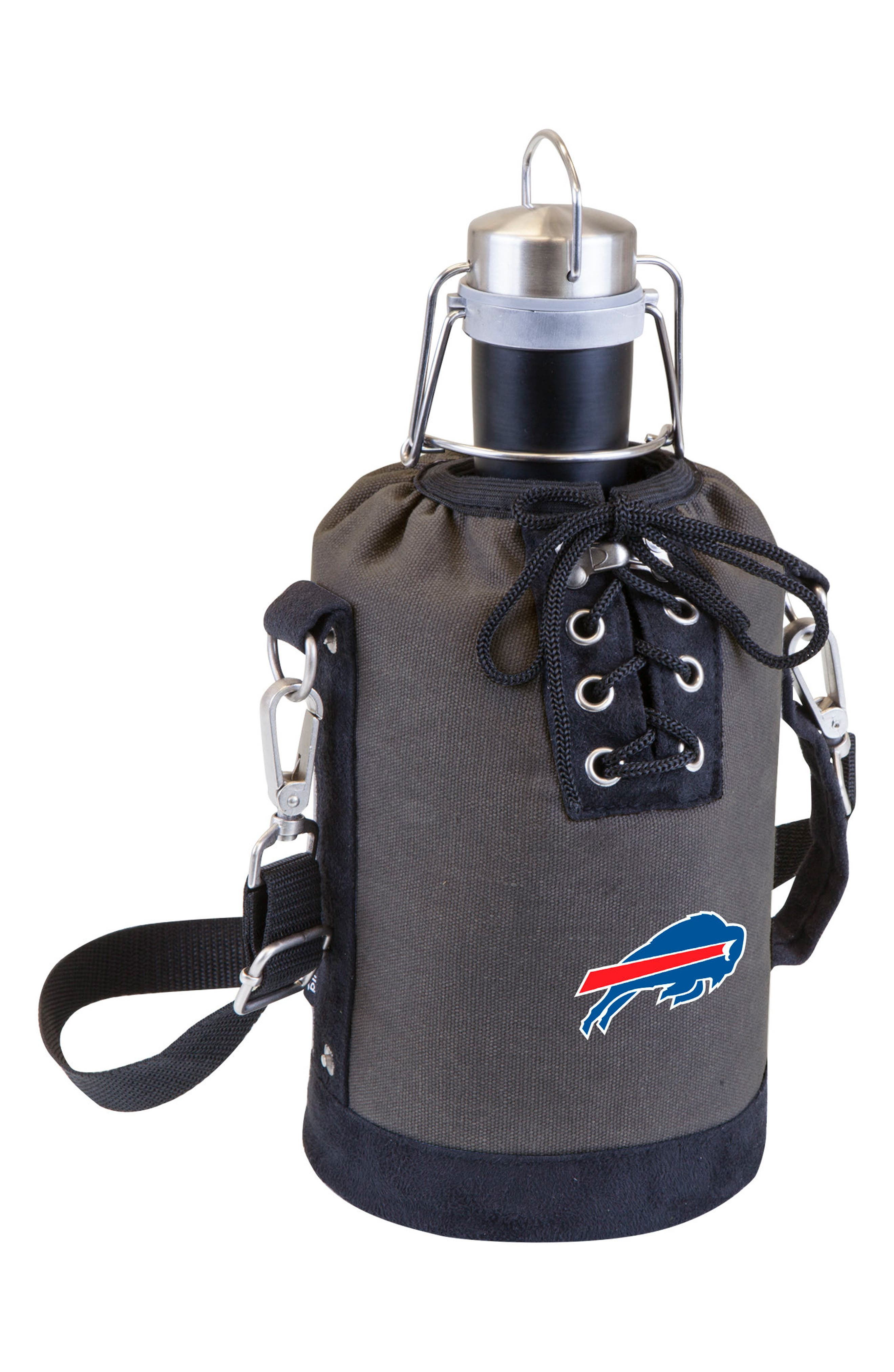 NFL Team Logo Tote & Stainless Steel Growler,                             Main thumbnail 4, color,