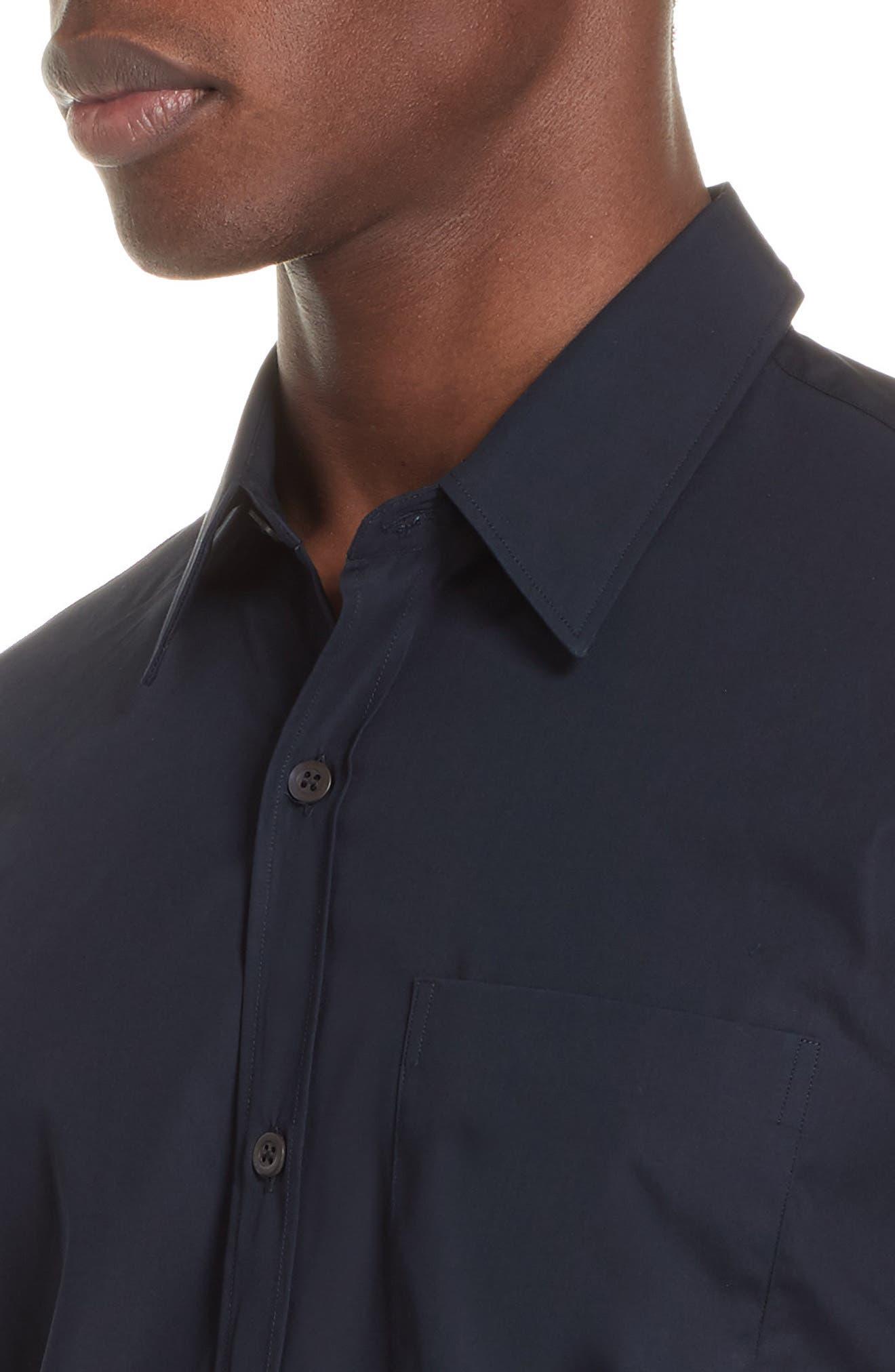 Corbin Sport Shirt,                             Alternate thumbnail 4, color,                             MIDNIGHT