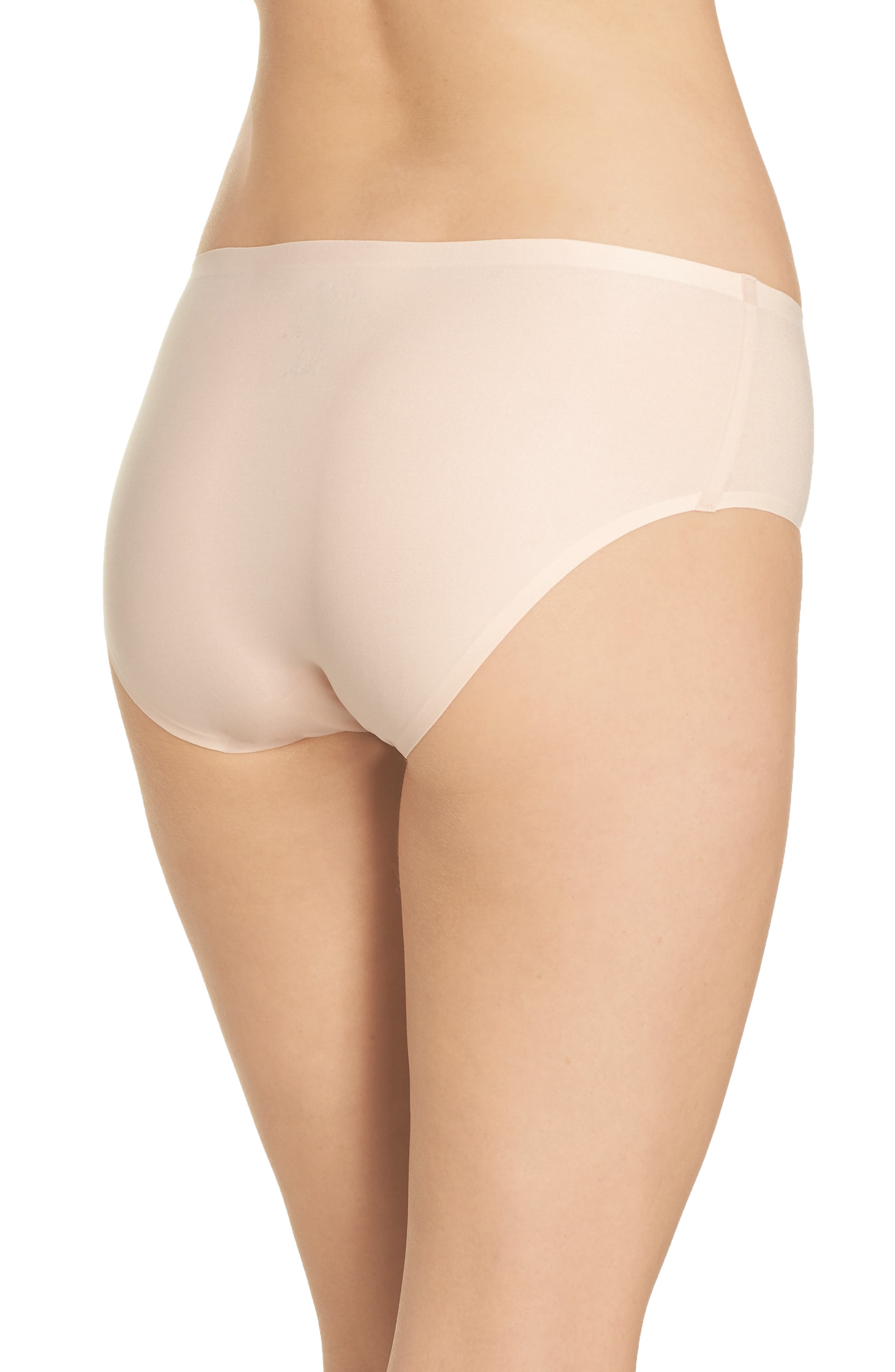 Soft Stretch Seamless Hipster Panties,                             Alternate thumbnail 2, color,                             NUDE BLUSH