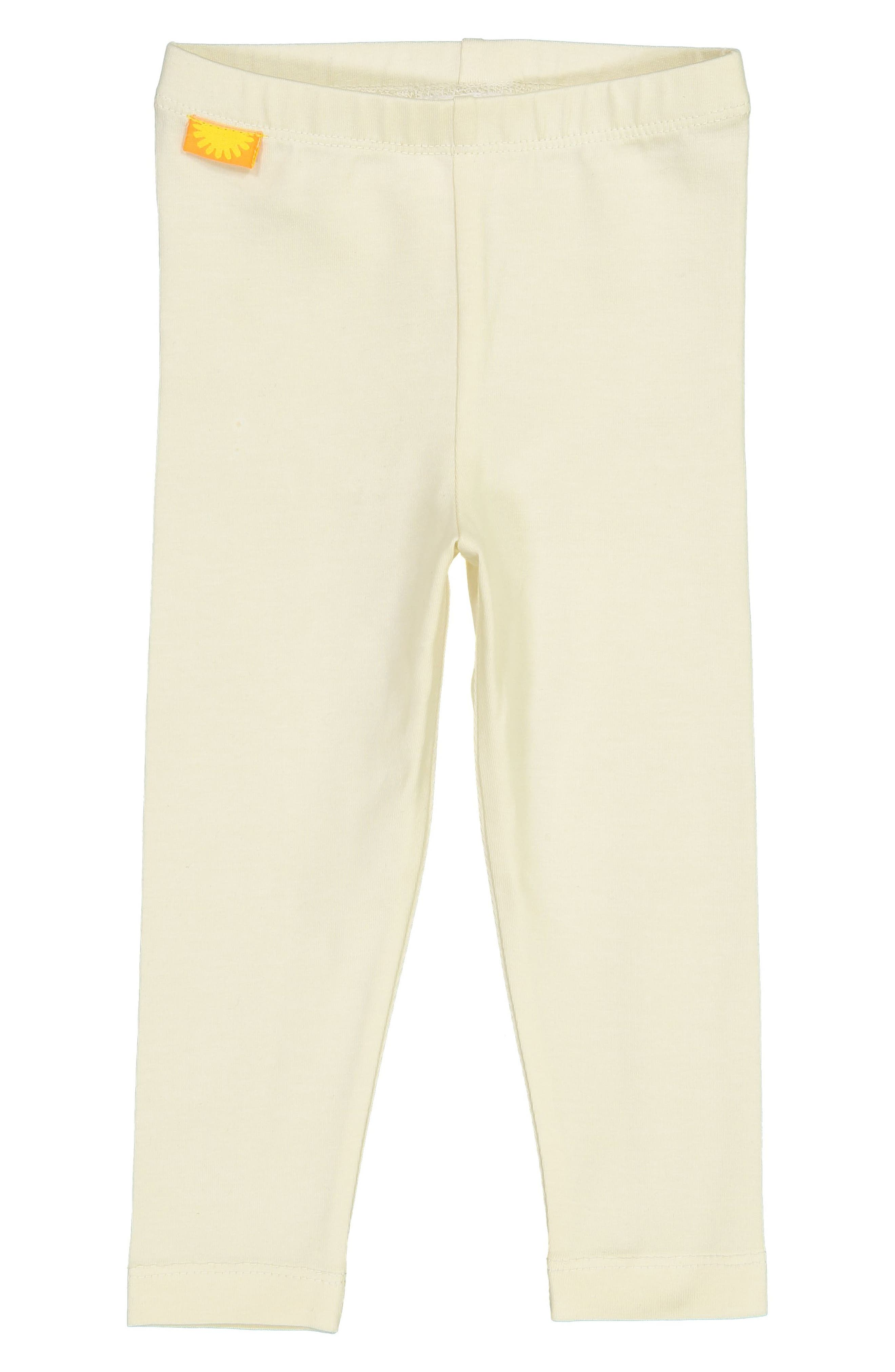 Stretch Organic Cotton Leggings,                         Main,                         color, WHITE