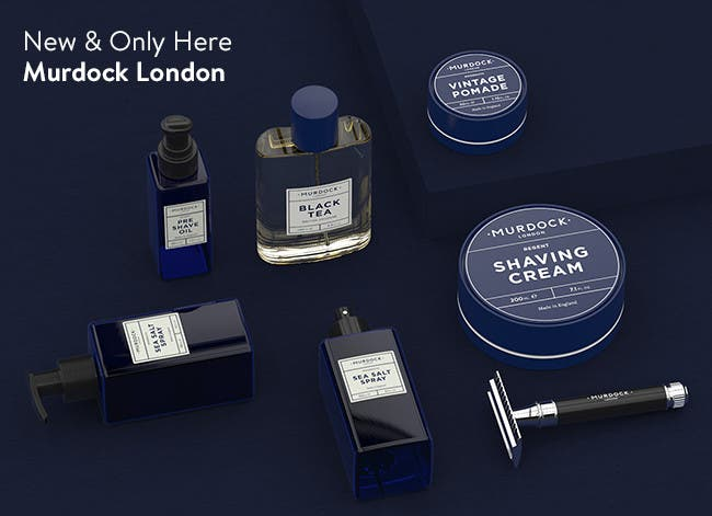 New and only here: Murdock London.