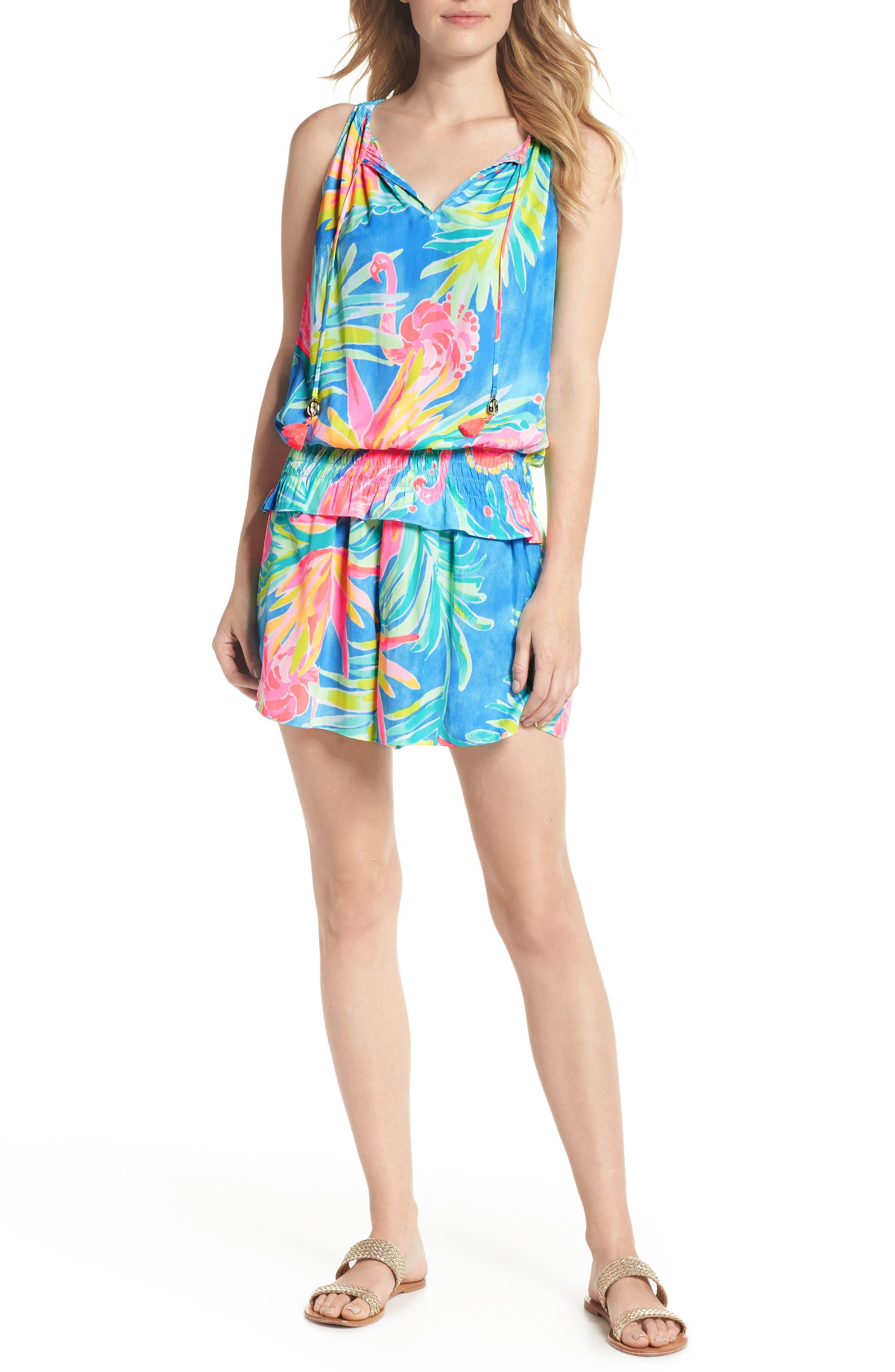 Kellen Top & Shorts Set,                         Main,                         color, 420