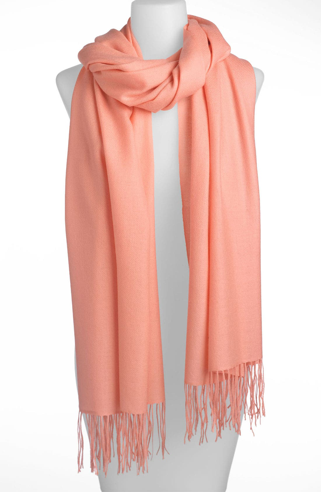 Tissue Weight Wool & Cashmere Wrap,                             Main thumbnail 173, color,