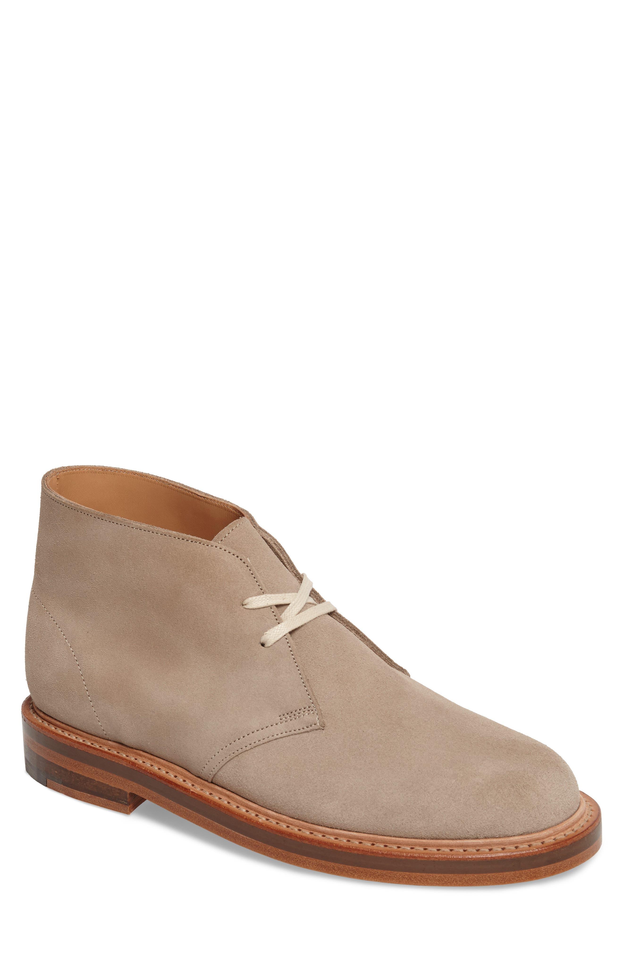 Clarks Desert Chukka Boot,                         Main,                         color, SAND SUEDE