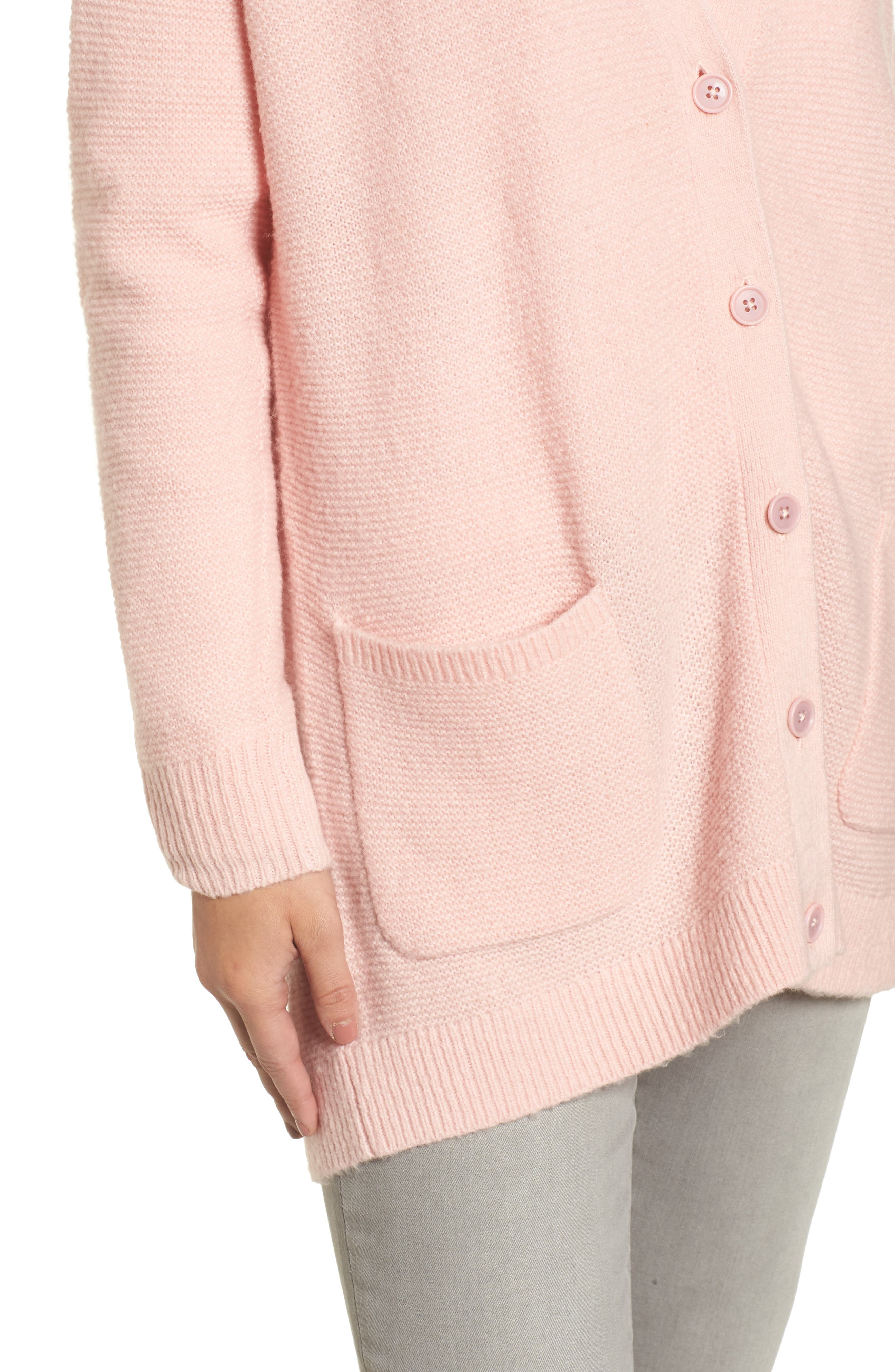 Relaxed Boyfriend Cardigan,                             Alternate thumbnail 24, color,