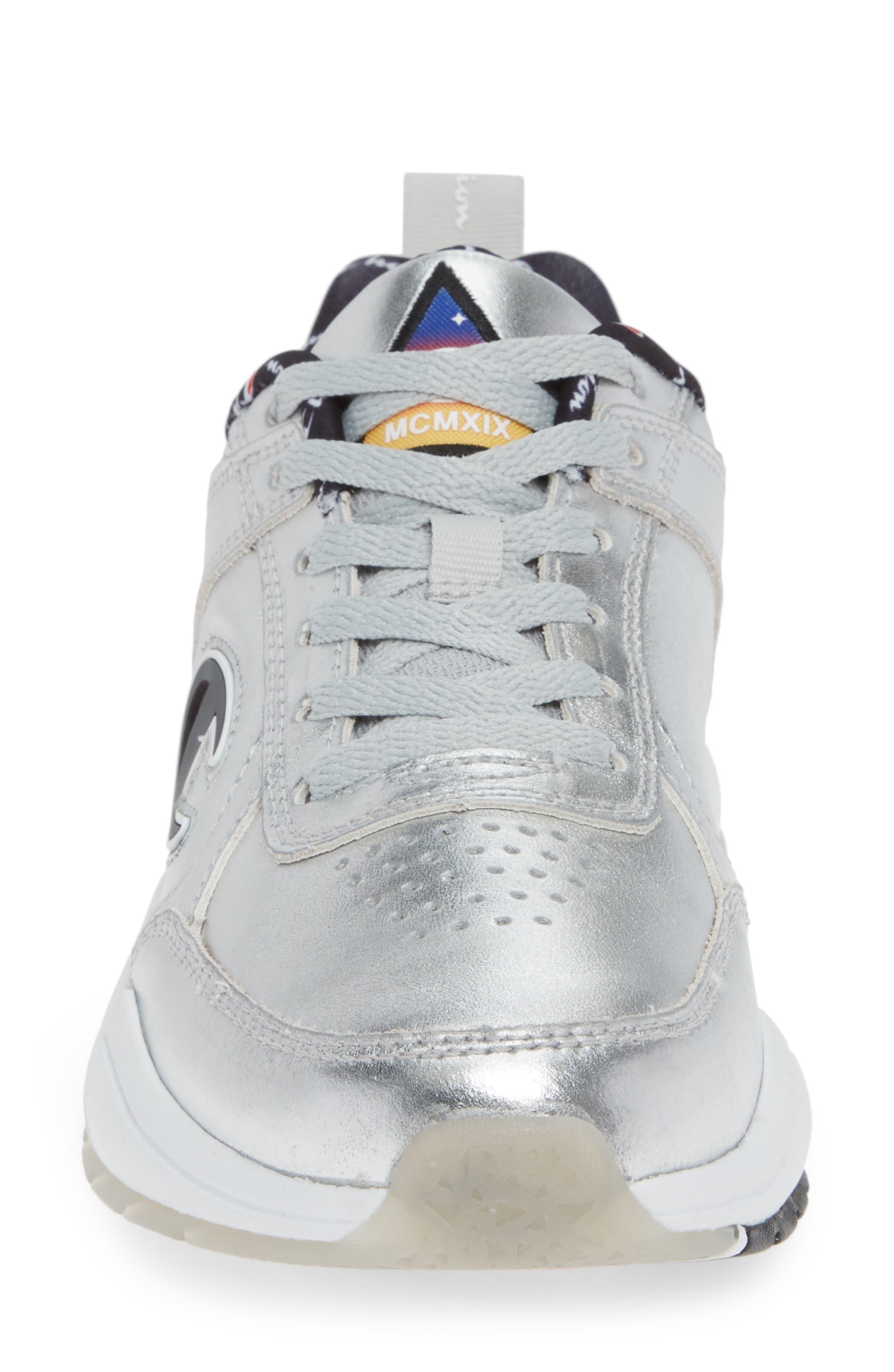 CHAMPION,                             93 Eighteen Metallic Sneaker,                             Alternate thumbnail 4, color,                             040