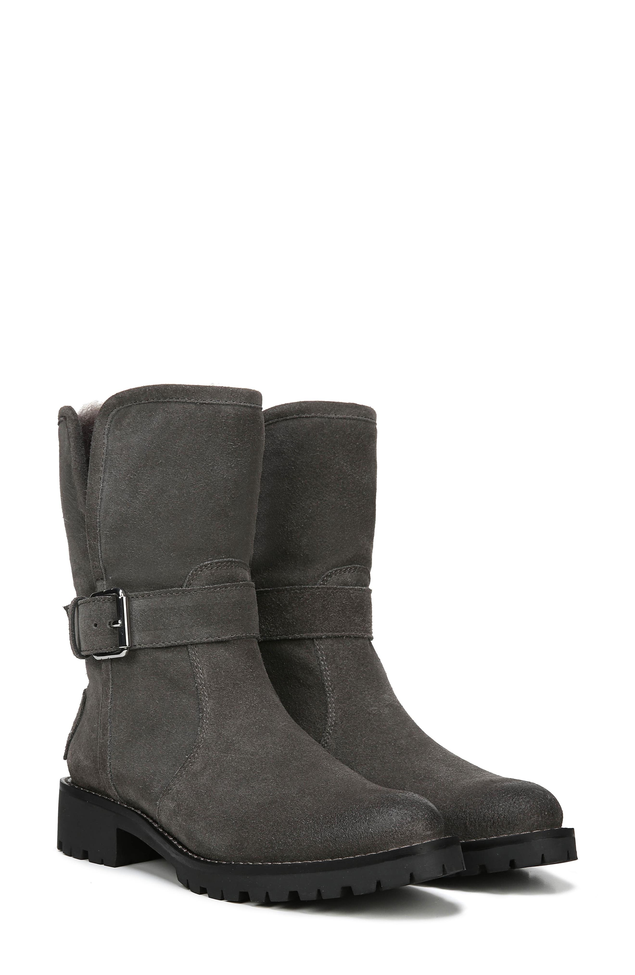 Jeanie Boot,                             Alternate thumbnail 9, color,                             STEEL GREY SUEDE