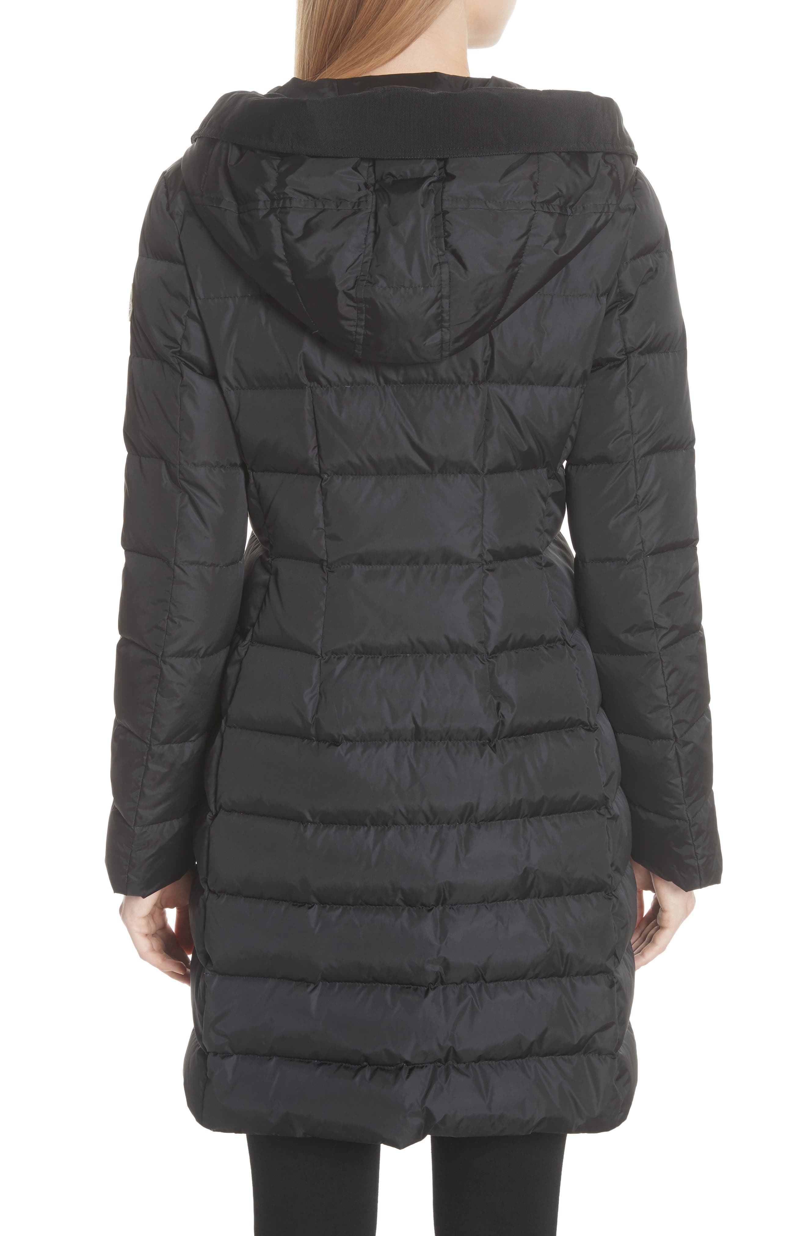 MONCLER,                             Grive Hooded Down Coat,                             Alternate thumbnail 2, color,                             NAVY