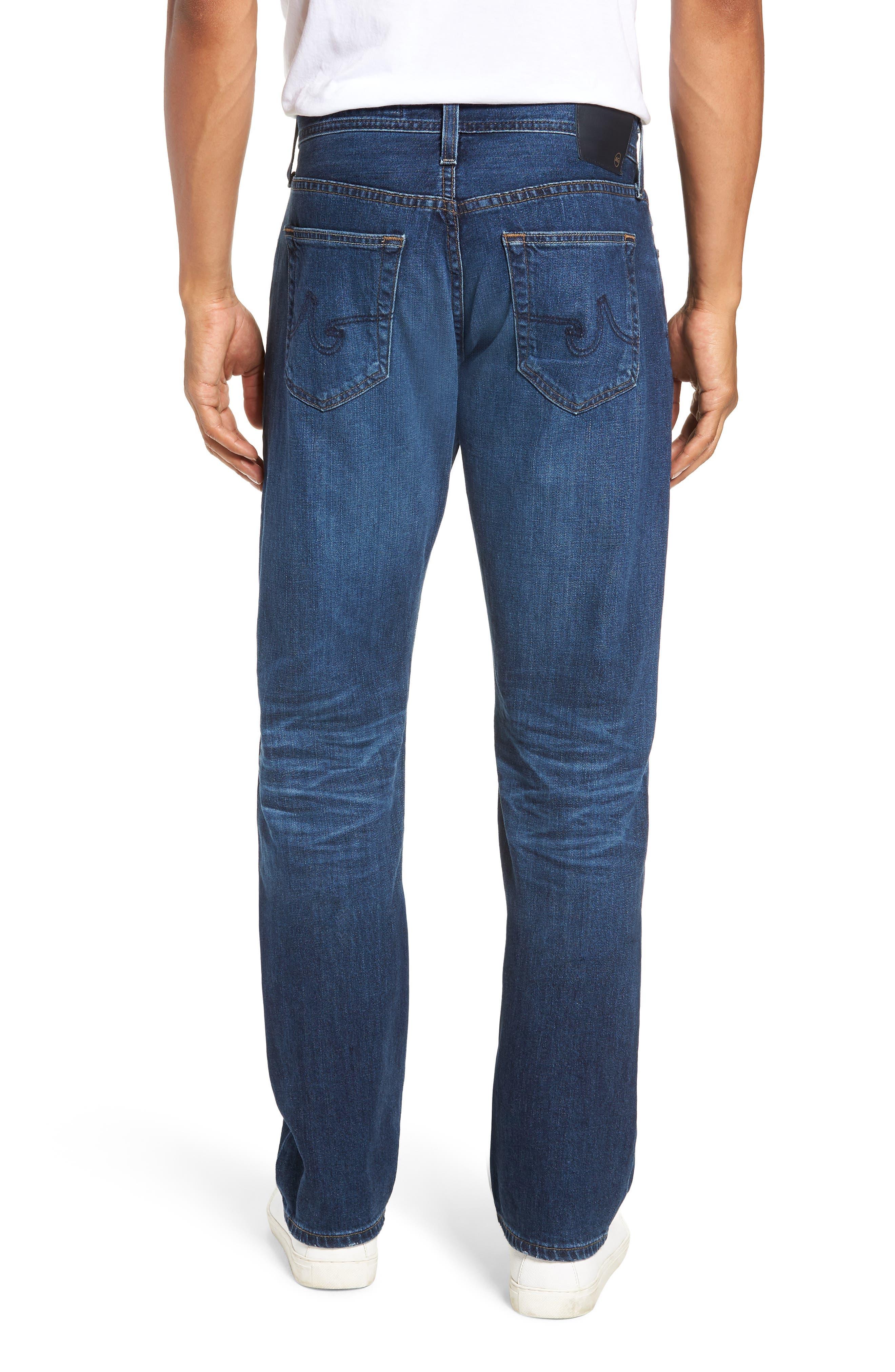 AG,                             Graduate Slim Straight Leg Jeans,                             Alternate thumbnail 2, color,                             7 YEAR CEASE