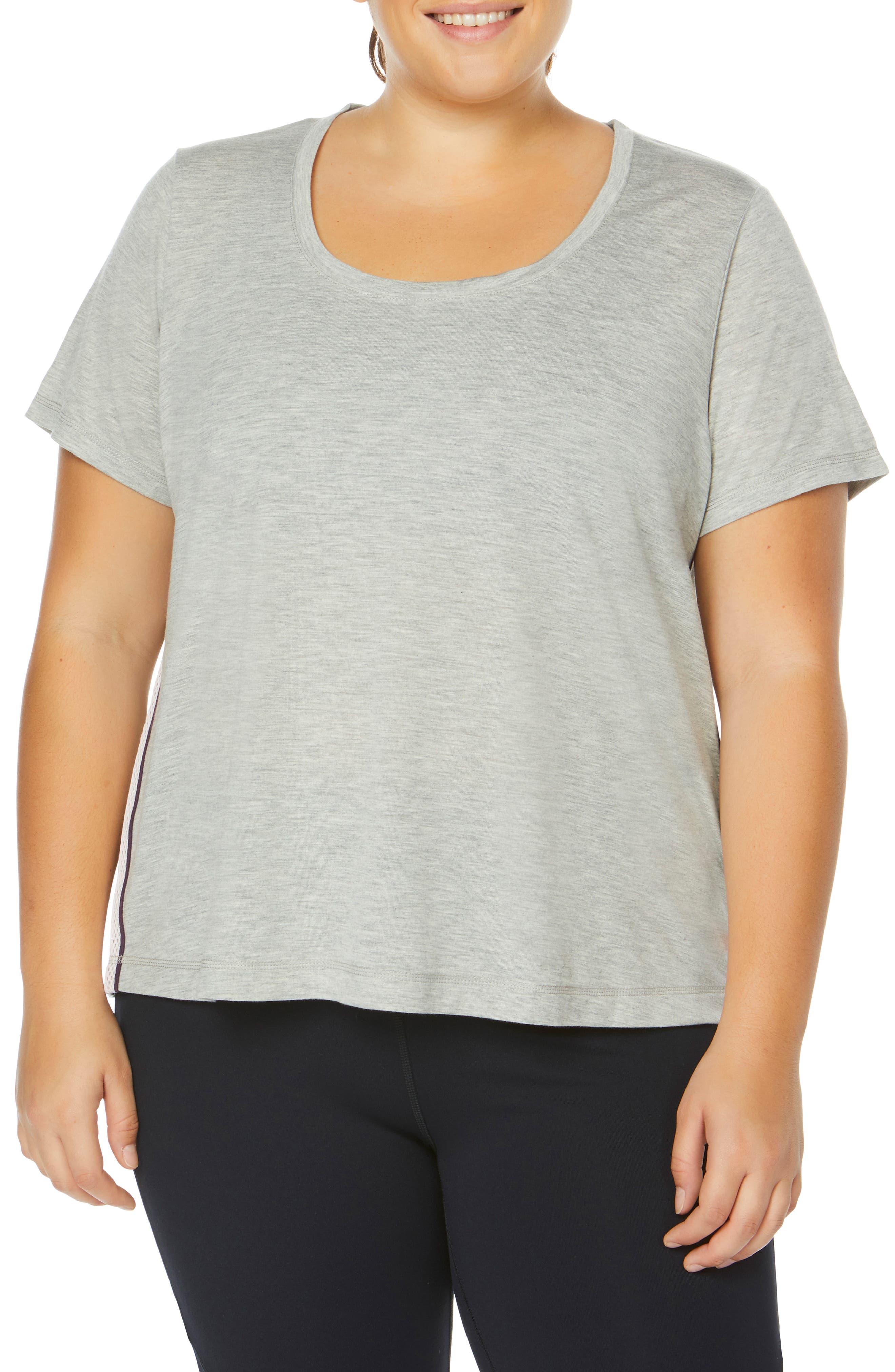 Plus Size Shape Activewear Track Star Tee