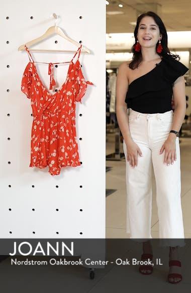 Daisy Floral Print Jumpsuit, sales video thumbnail