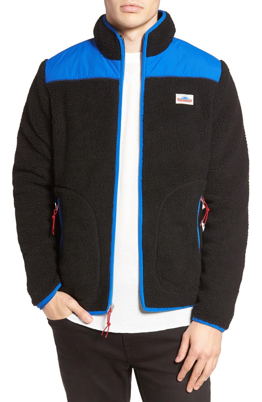 Mattawa Zip Fleece Jacket, Main, color, 001