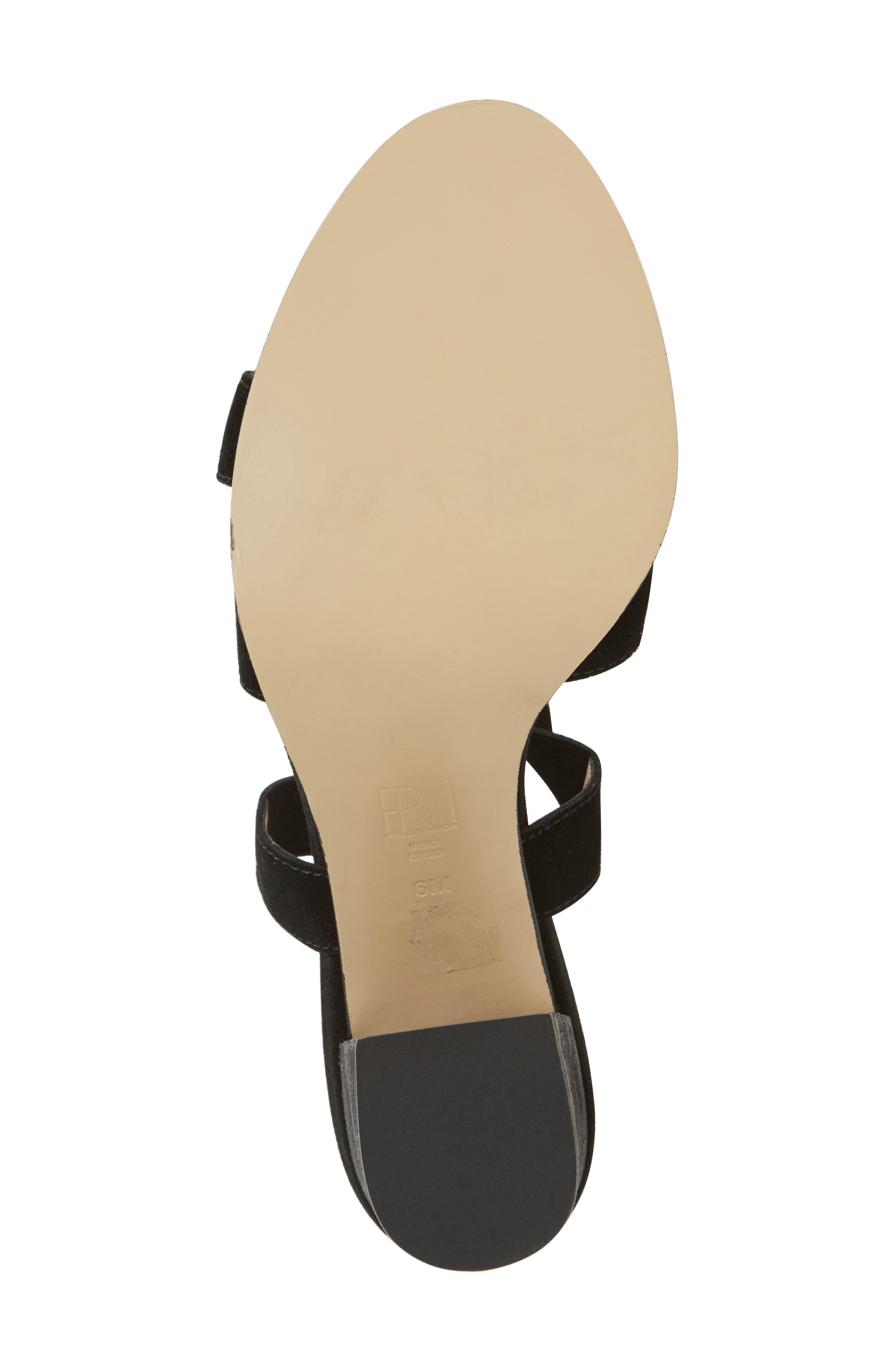 Bonjour Ankle Wrap Sandal,                             Alternate thumbnail 9, color,