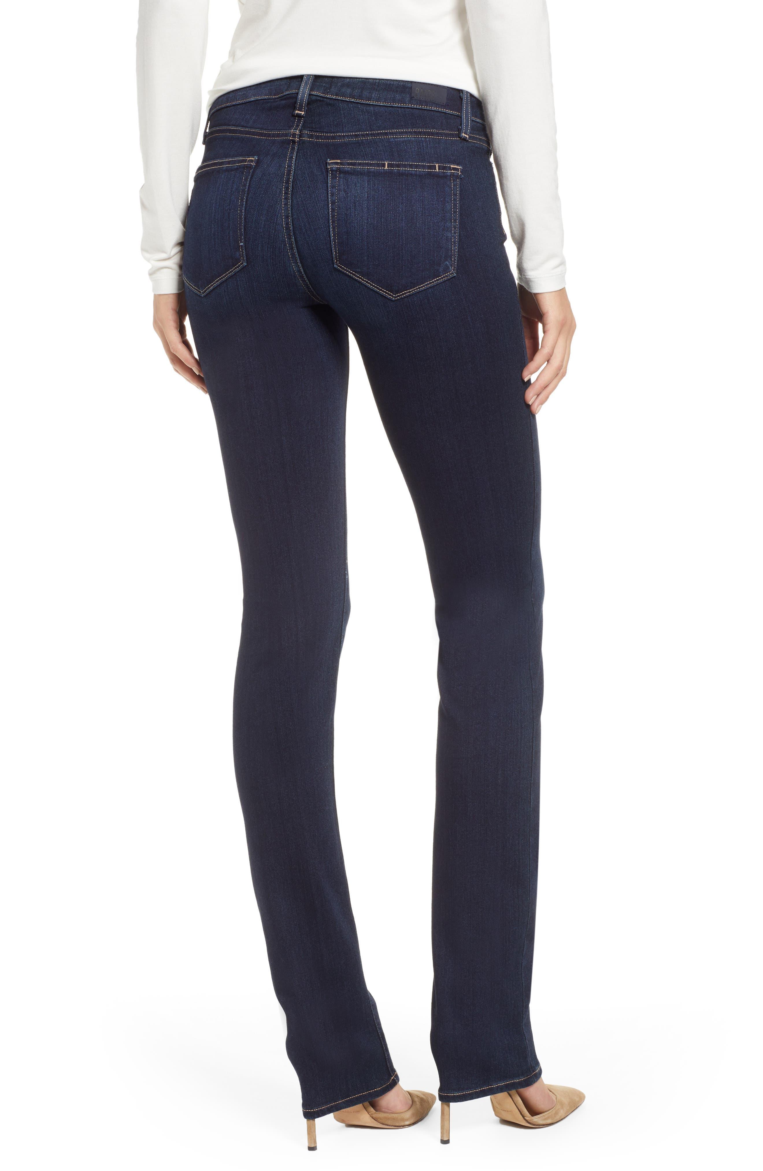 Transcend - Skyline Straight Leg Jeans,                             Alternate thumbnail 2, color,                             GARDENA