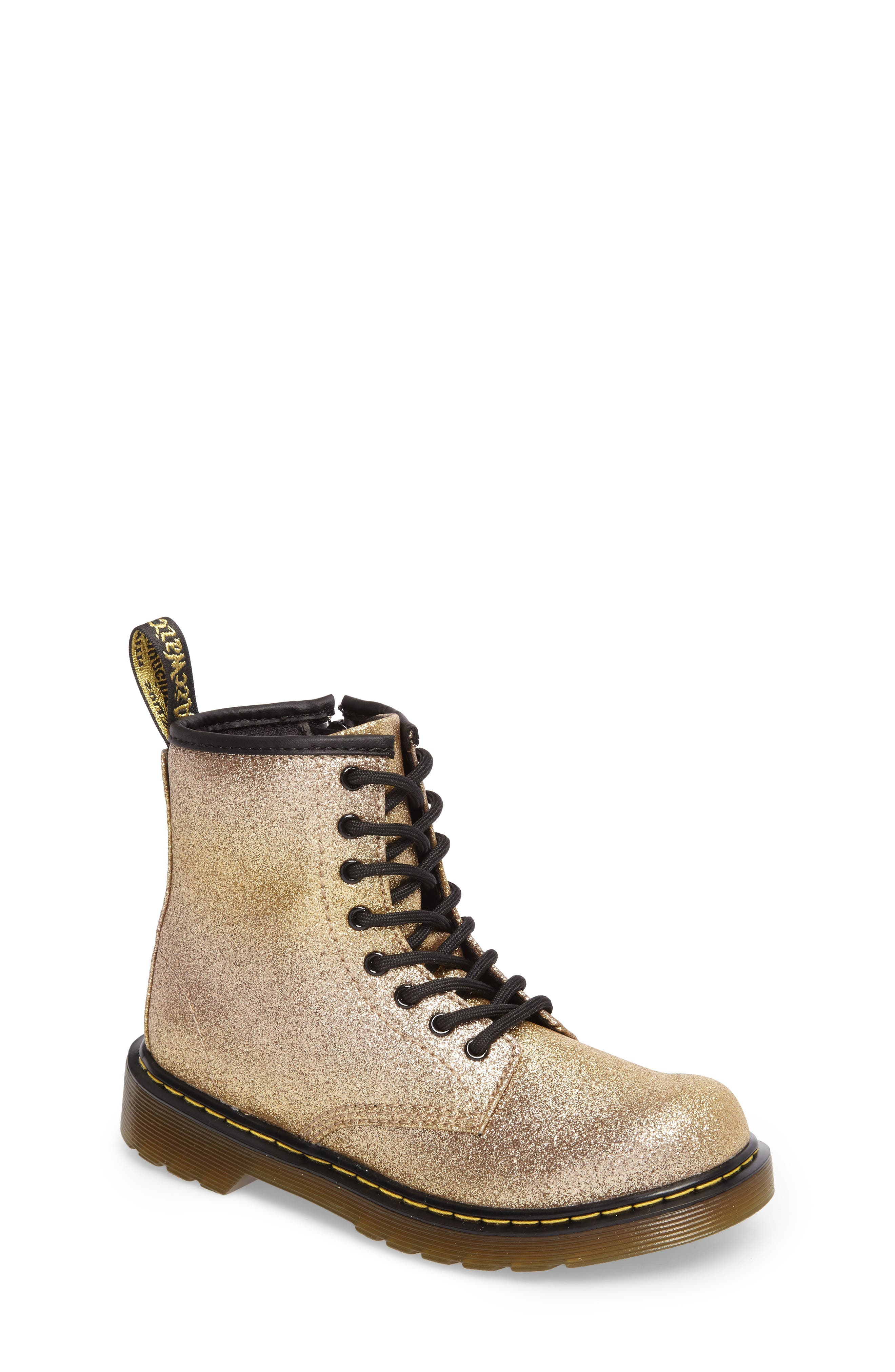 Delaney Glitter Boot,                             Main thumbnail 4, color,