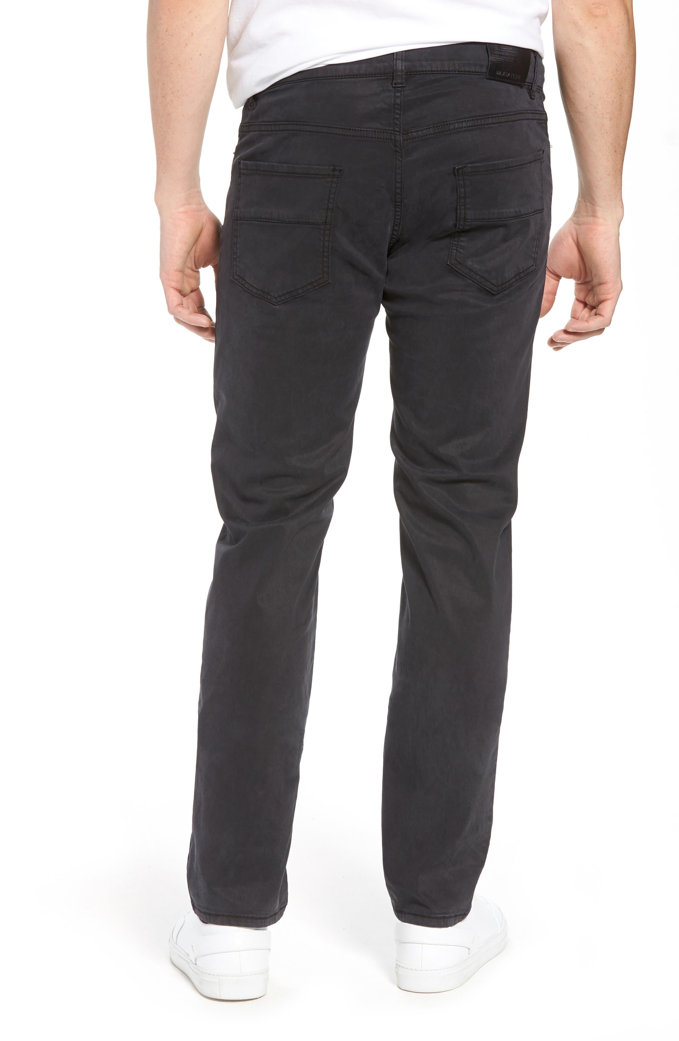 Slim Fit Washed Five-Pocket Pants,                             Alternate thumbnail 5, color,