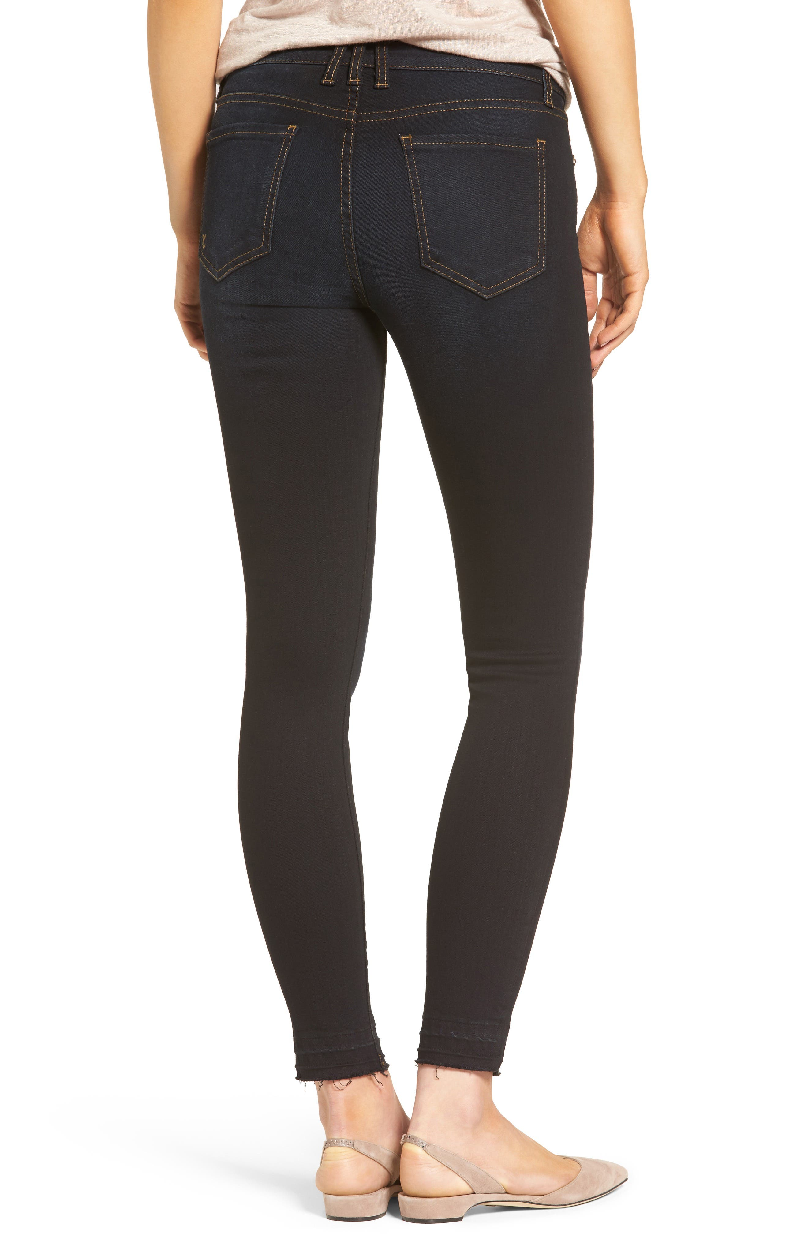 Connie Release Hem Skinny Jeans,                             Alternate thumbnail 2, color,                             476
