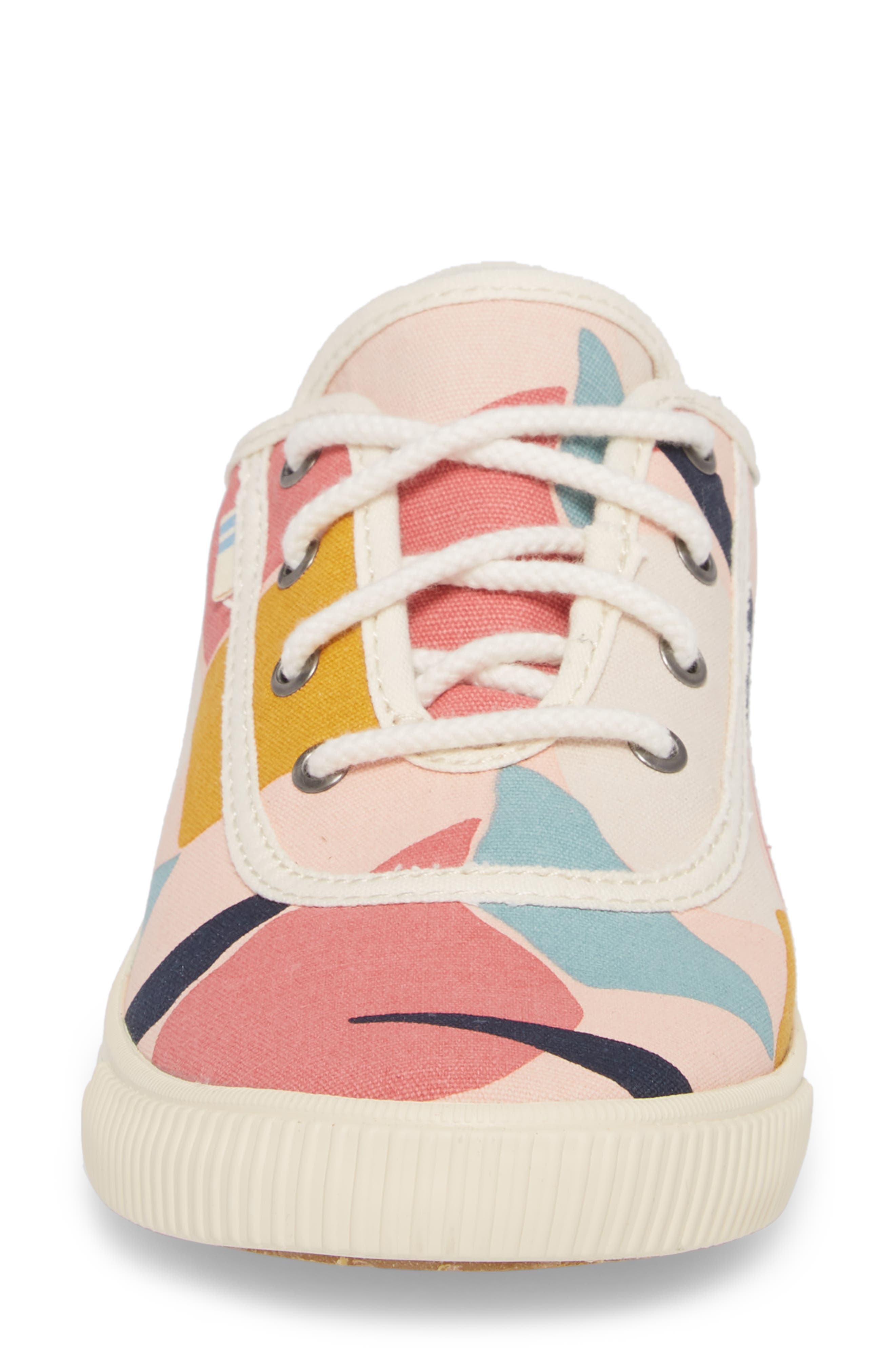 Carmel Print Sneaker,                             Alternate thumbnail 4, color,