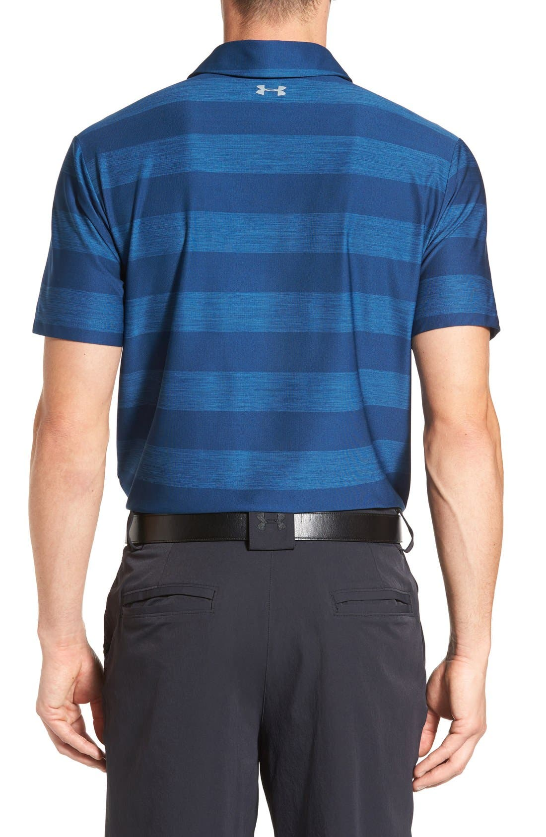 'Playoff' Loose Fit Short Sleeve Polo,                             Alternate thumbnail 220, color,