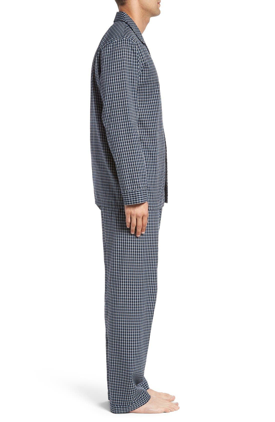 'CVC' Cotton Blend Pajamas,                             Alternate thumbnail 3, color,                             001