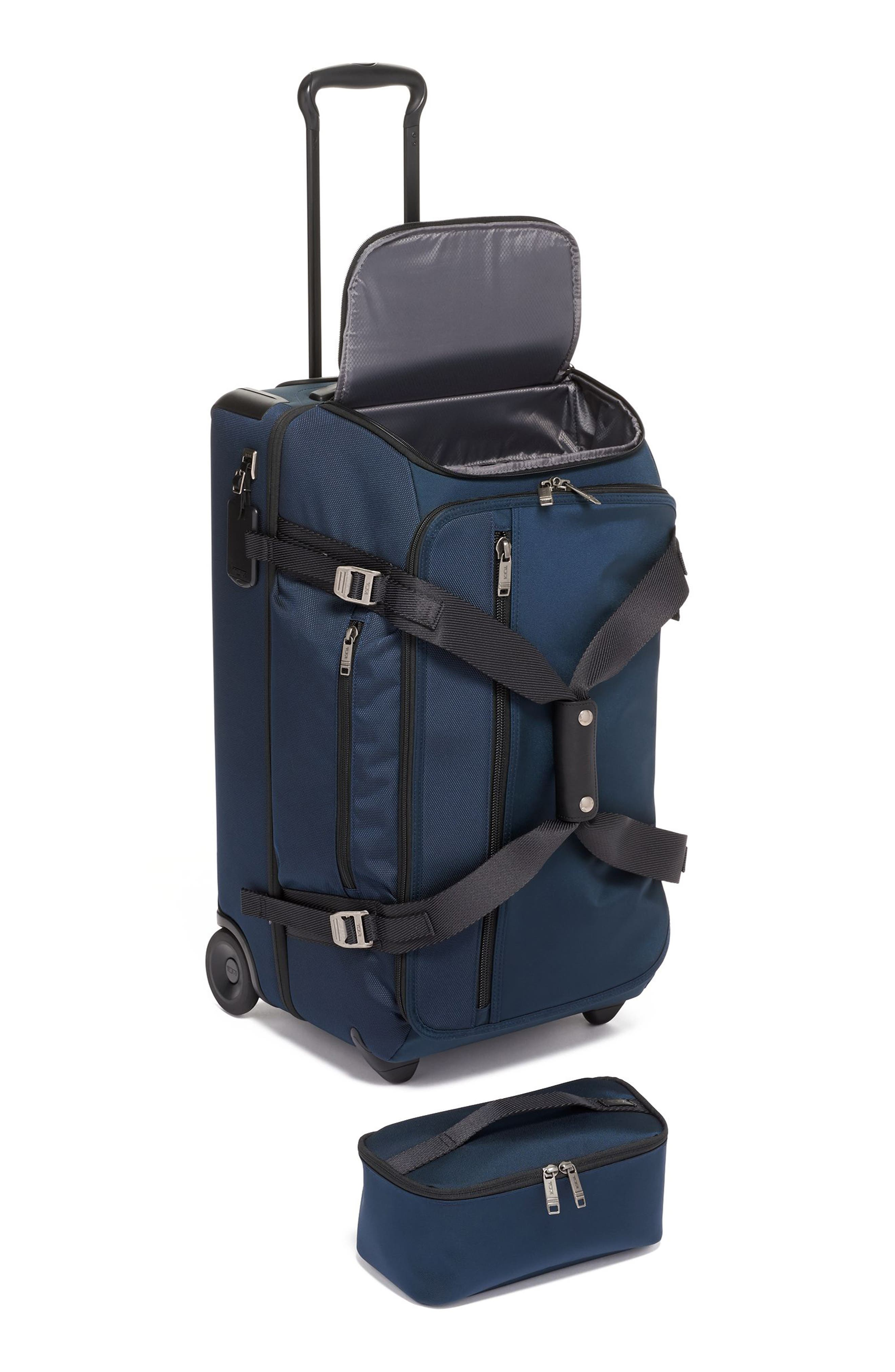 Merge Wheeled Duffel Packing Case,                             Alternate thumbnail 5, color,                             NAVY