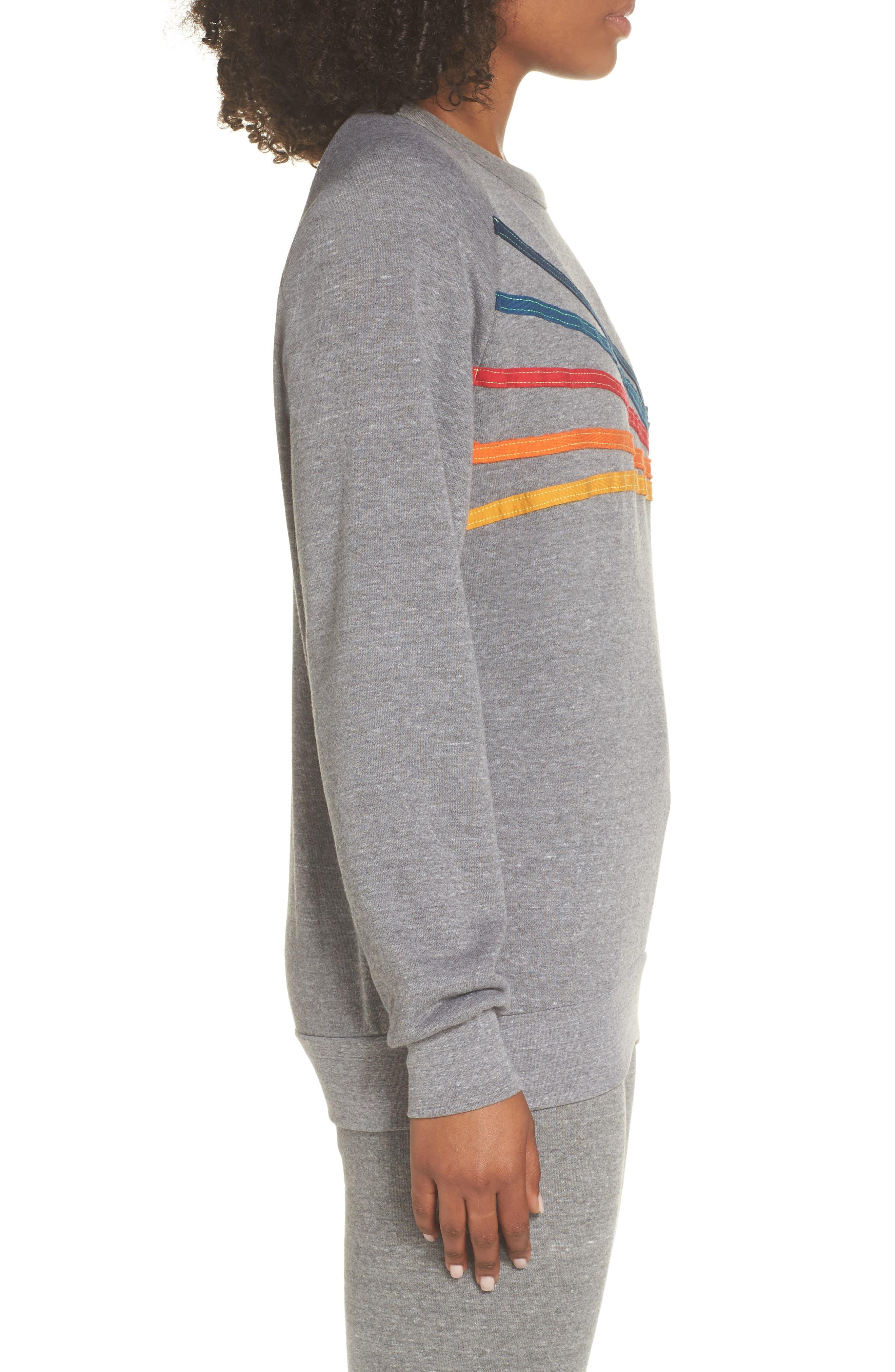 Daydream Sweatshirt,                             Alternate thumbnail 3, color,                             HEATHER GREY
