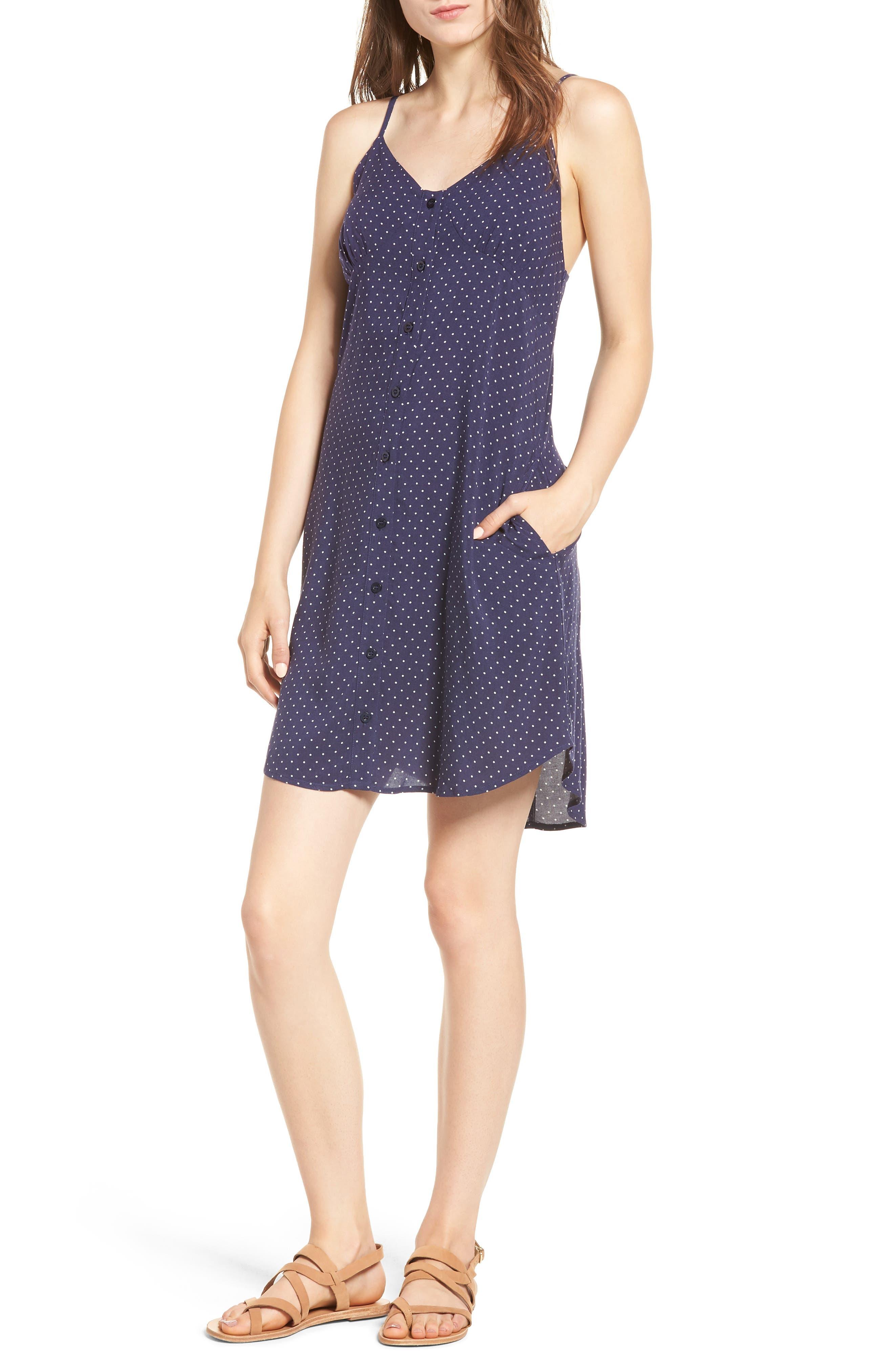Button Front Dress,                             Main thumbnail 1, color,