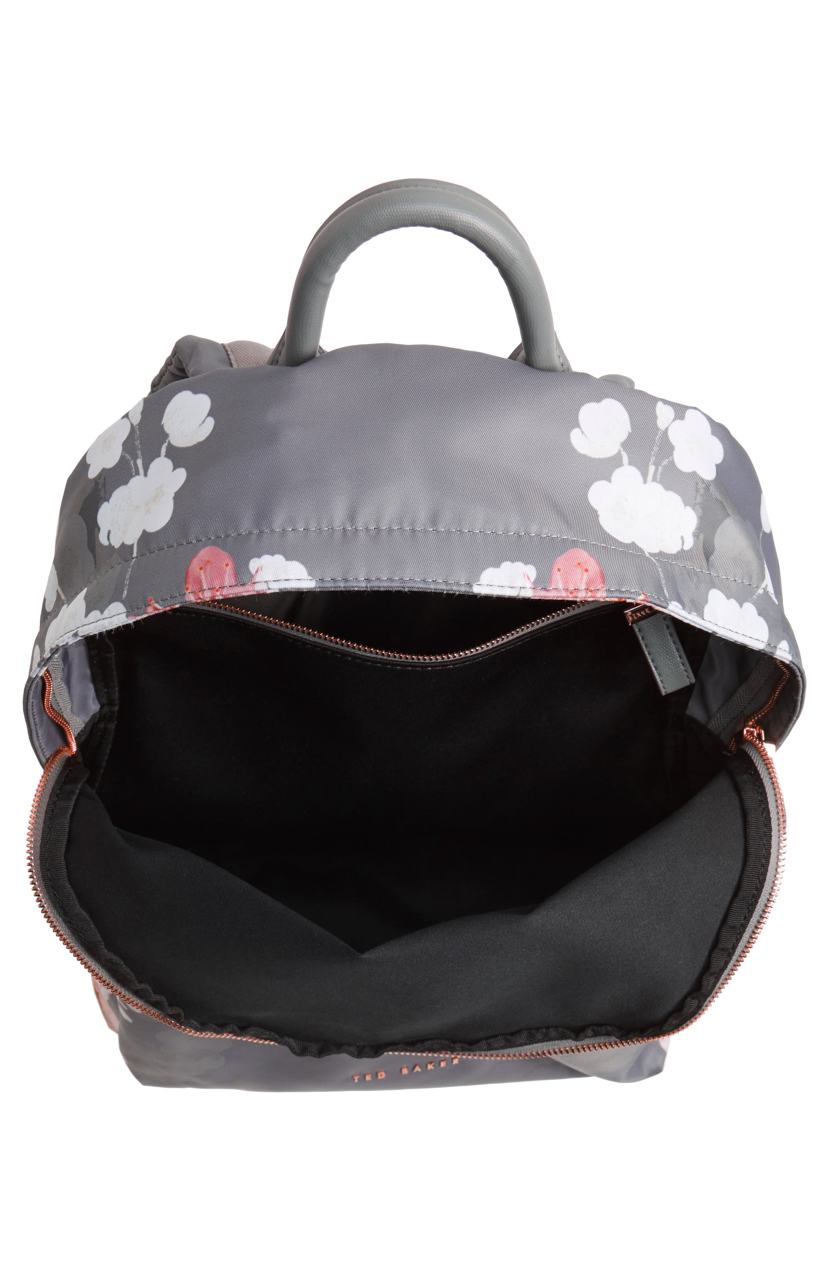 Olica Oriental Blossom Backpack,                             Alternate thumbnail 4, color,                             050