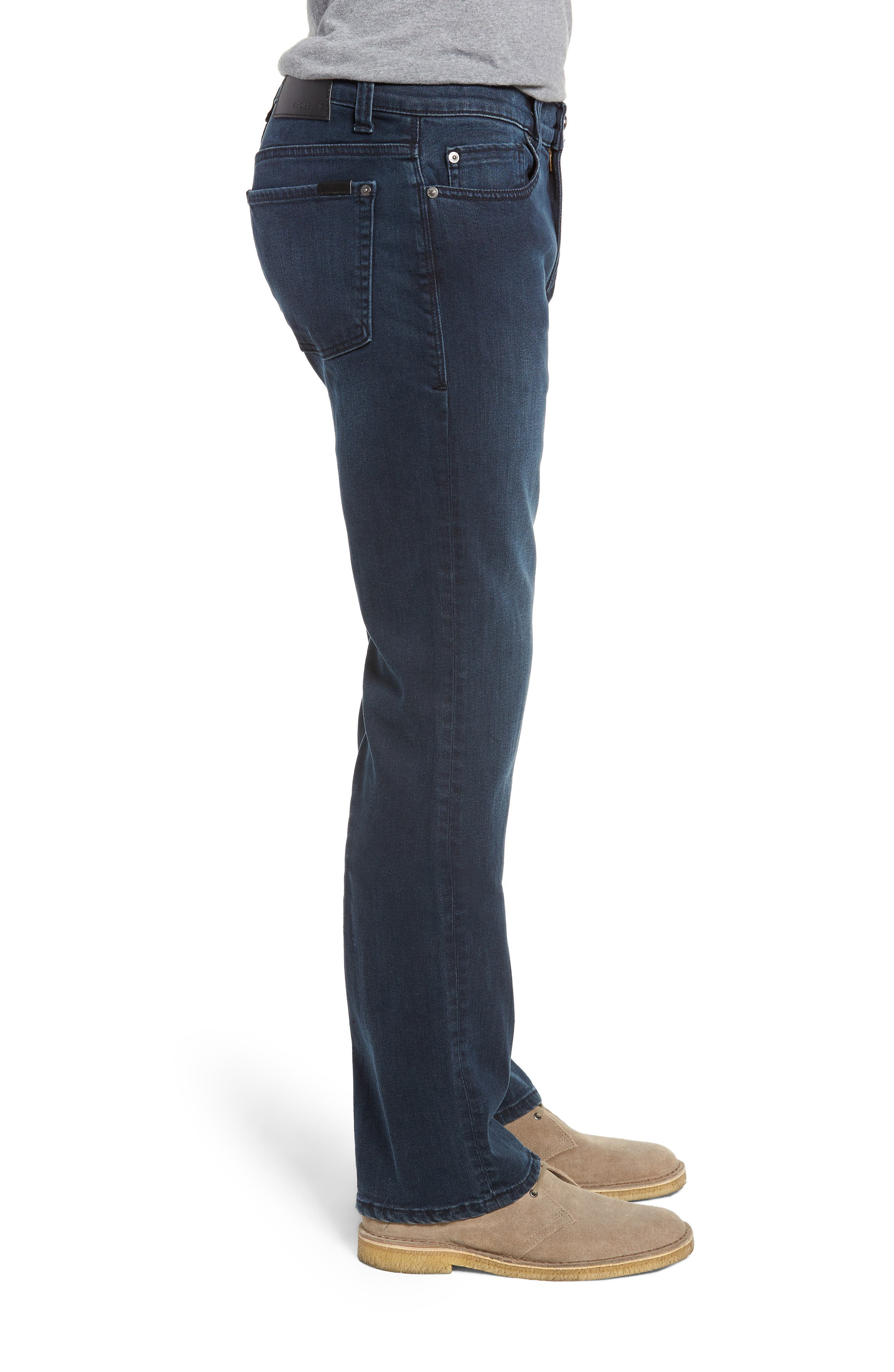 50-11 Relaxed Fit Jeans,                             Alternate thumbnail 3, color,                             MILLI BLUE