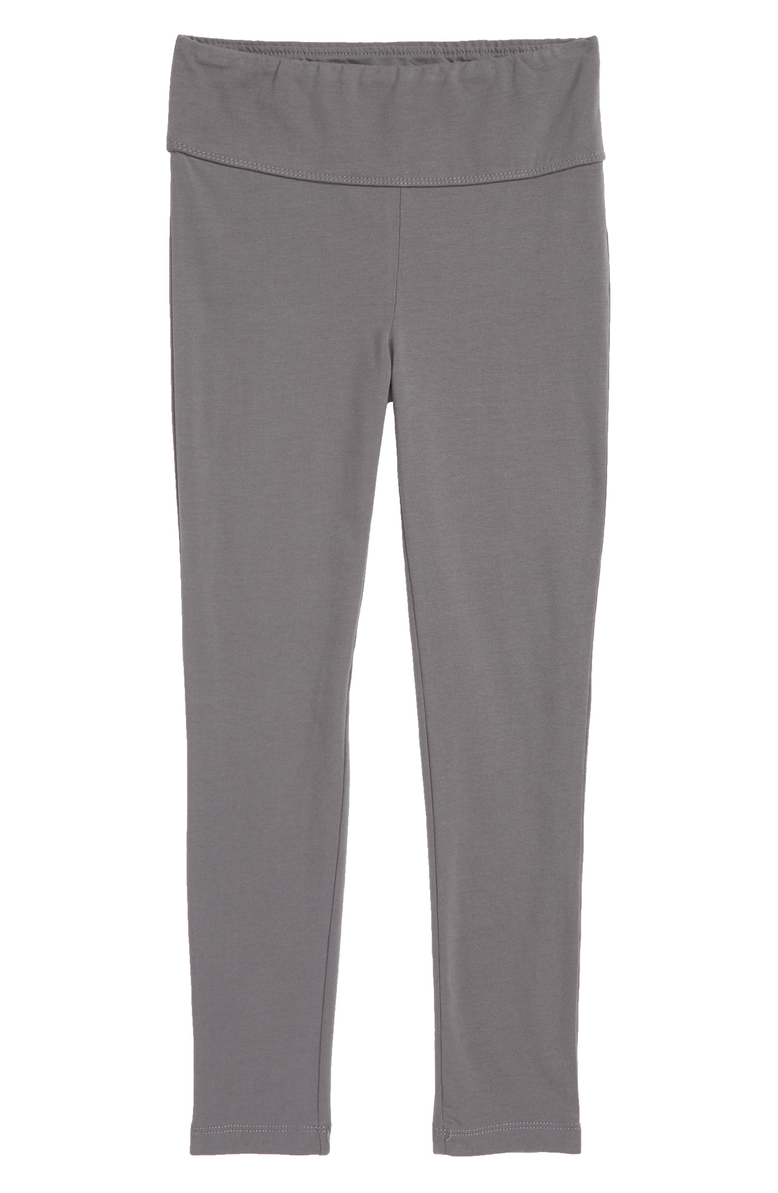 Girls Tucker  Tate High Waist Leggings Size XL (1416)  Grey