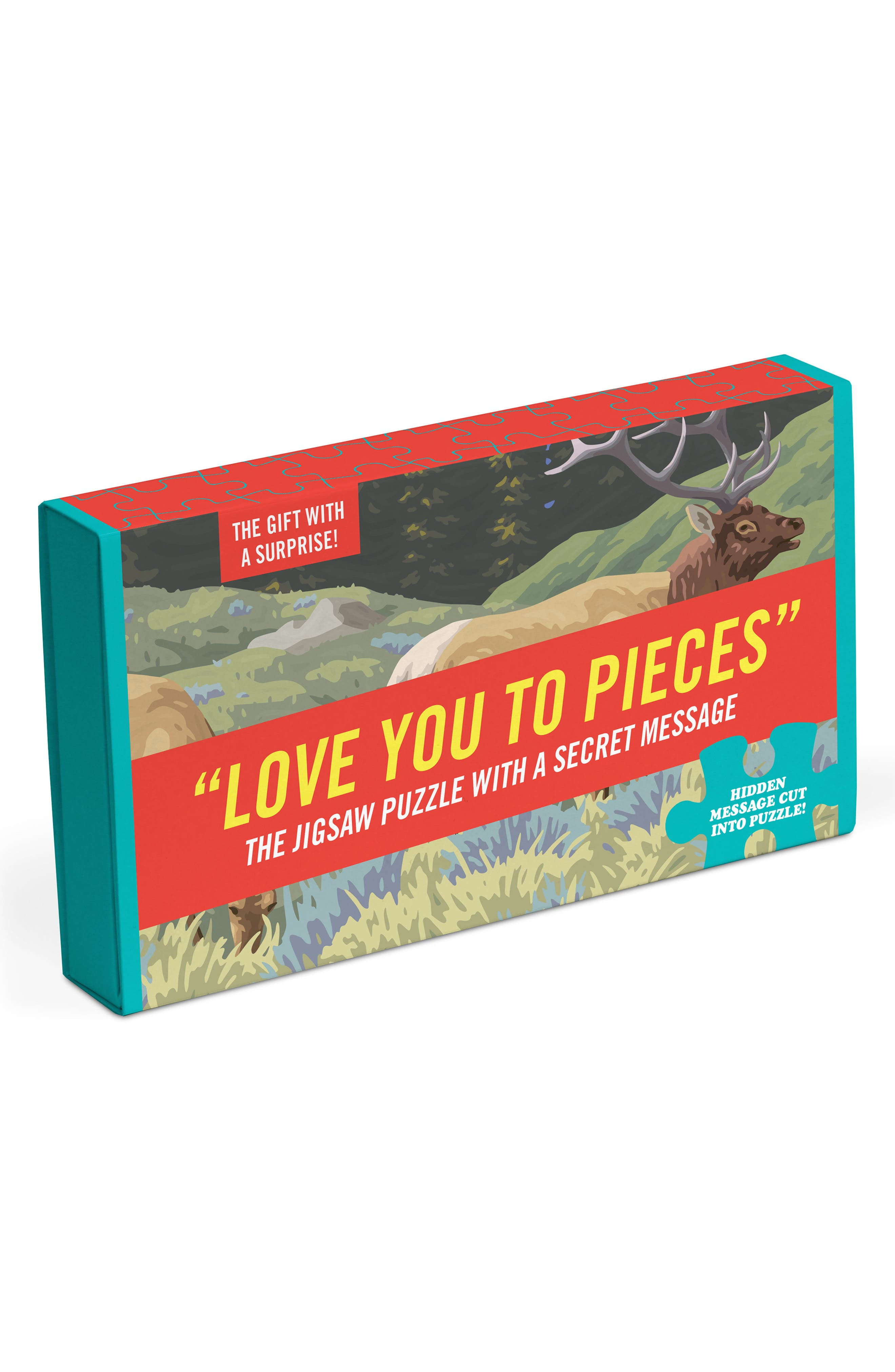 Love You to Pieces Puzzle,                             Alternate thumbnail 4, color,                             600