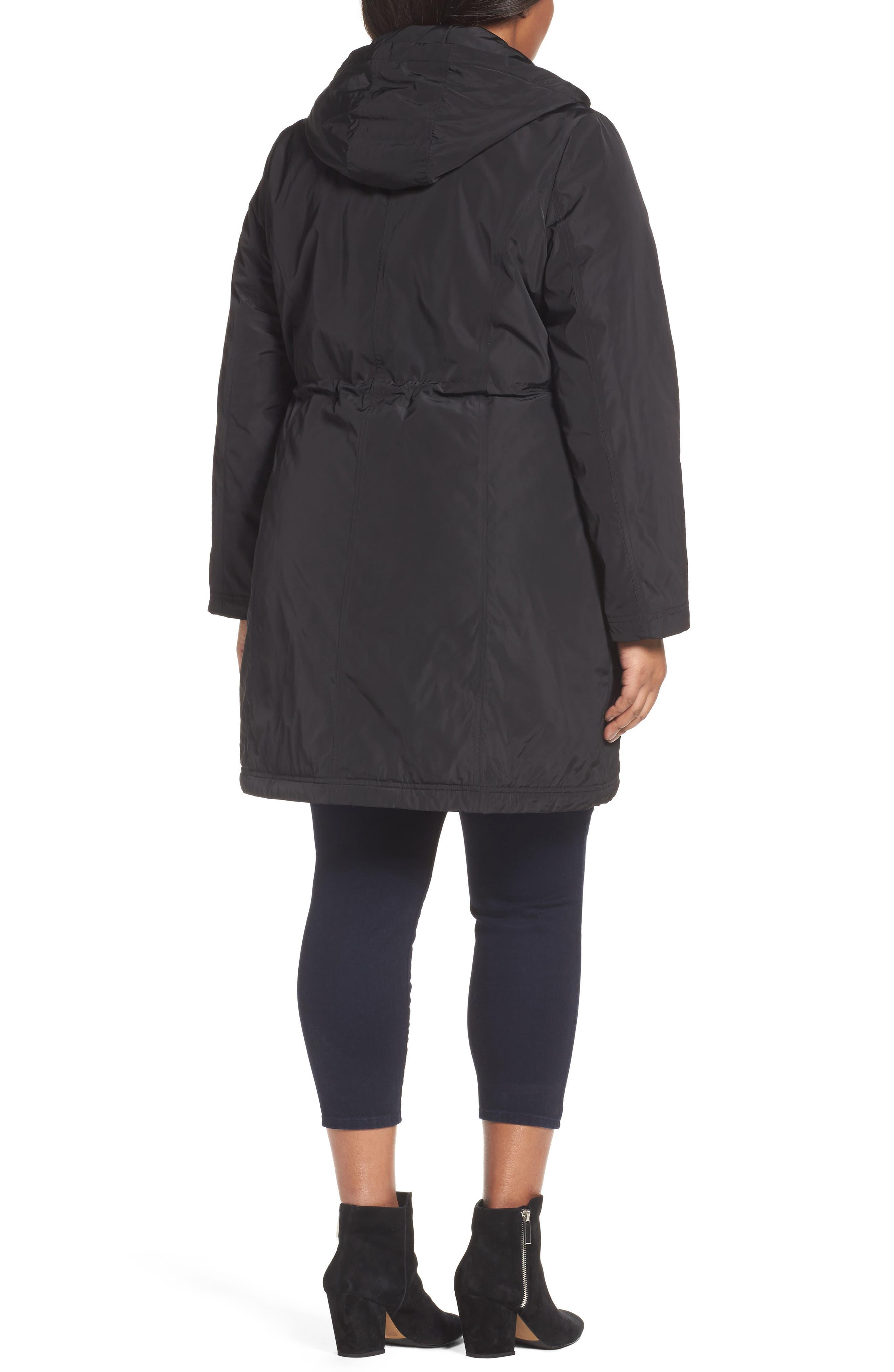 Tiffany Raincoat,                             Alternate thumbnail 4, color,