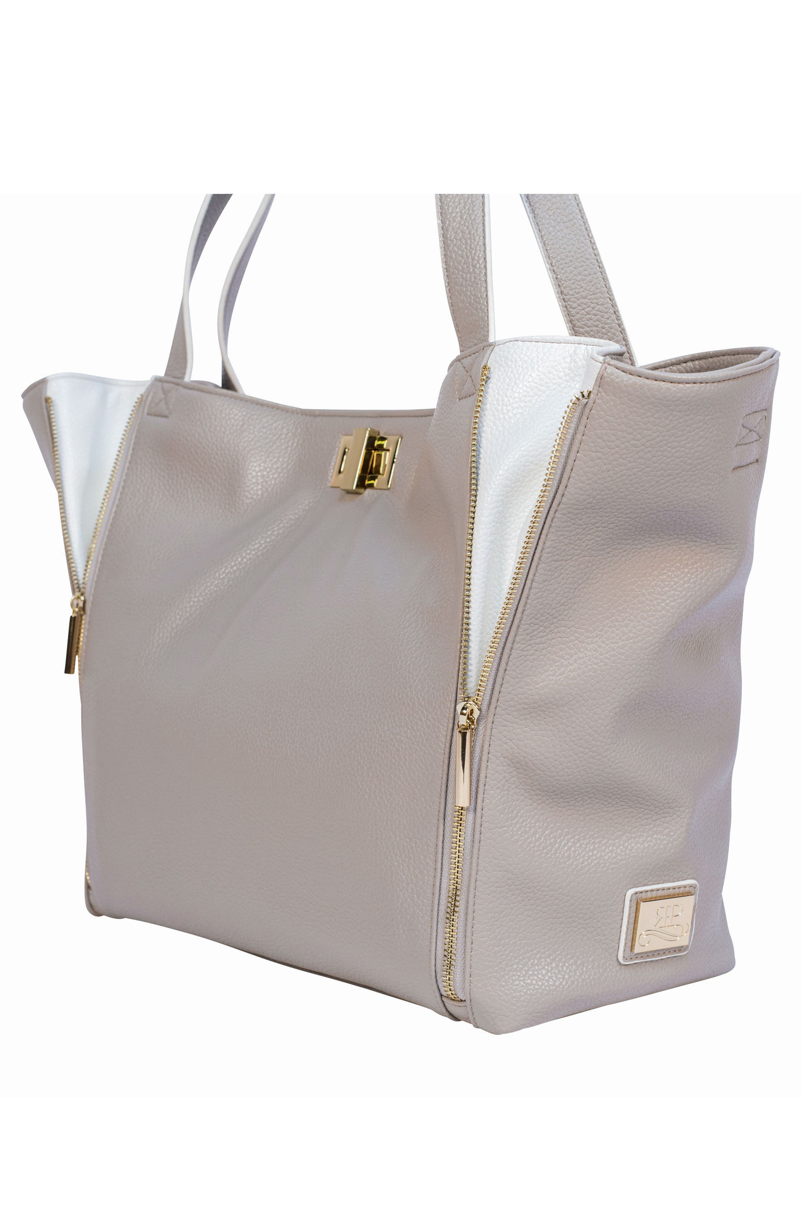 Sloane Diaper Bag,                             Alternate thumbnail 5, color,                             NEUTRAL/ WHITE