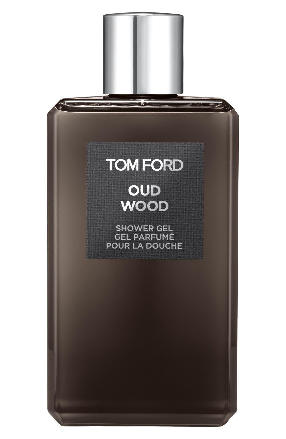 Oud Wood Shower Gel,                             Main thumbnail 1, color,                             000
