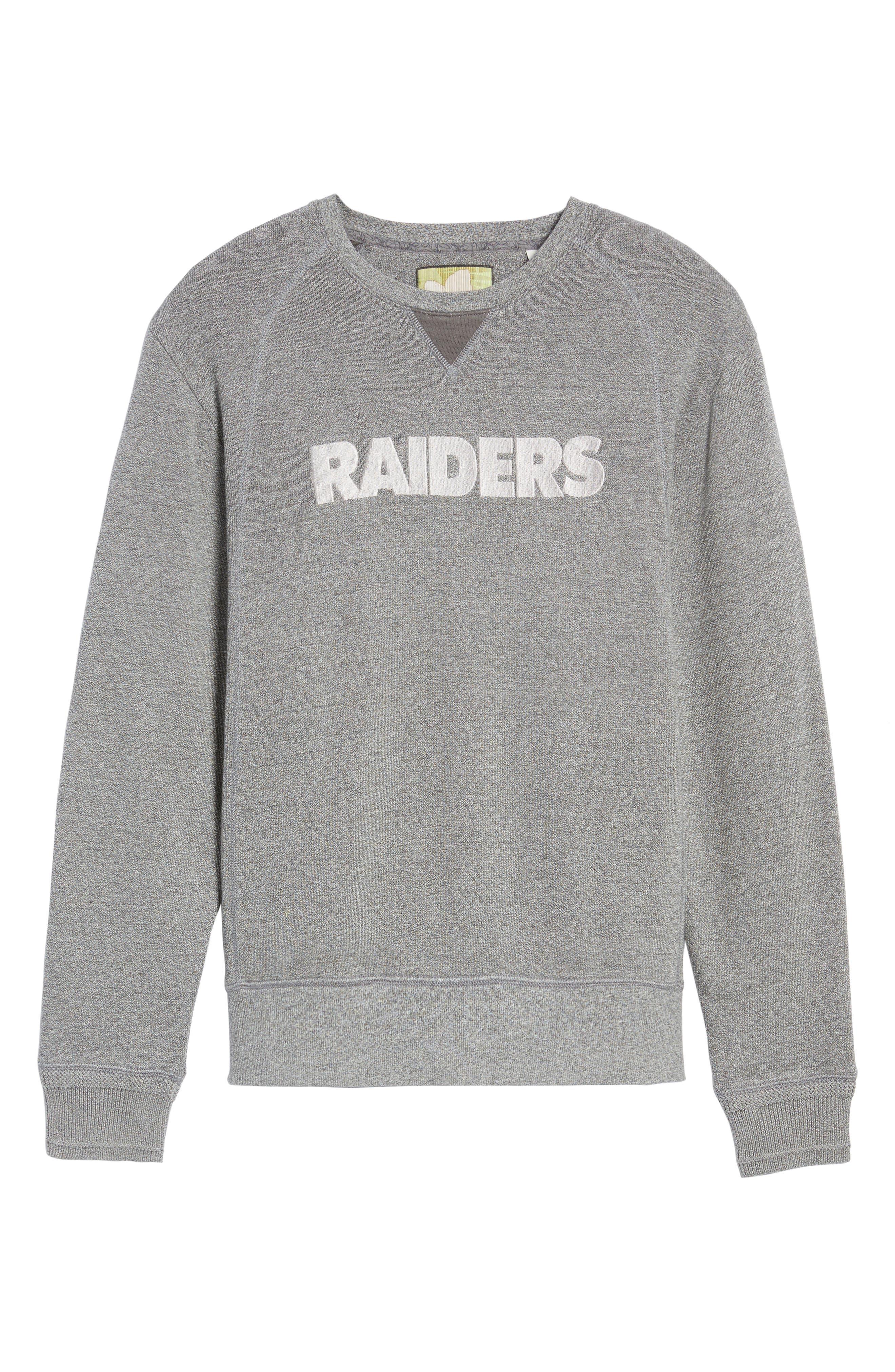 NFL Stitch of Liberty Embroidered Crewneck Sweatshirt,                             Alternate thumbnail 175, color,